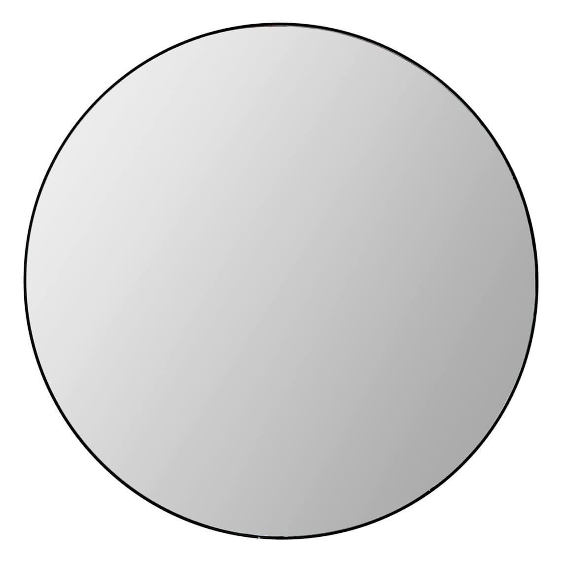 Dylan Mirror 120Cm, Black Regarding Colton Modern & Contemporary Wall Mirrors (View 13 of 30)