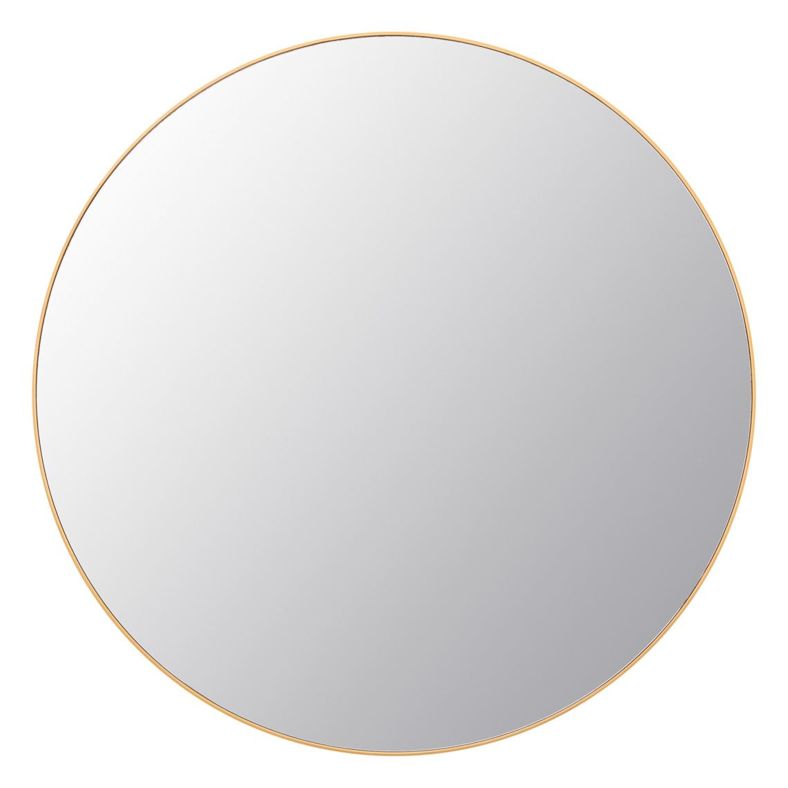 Dylan Mirror 90Cm Gold Colour Throughout Marion Wall Mirrors (Gallery 18 of 30)