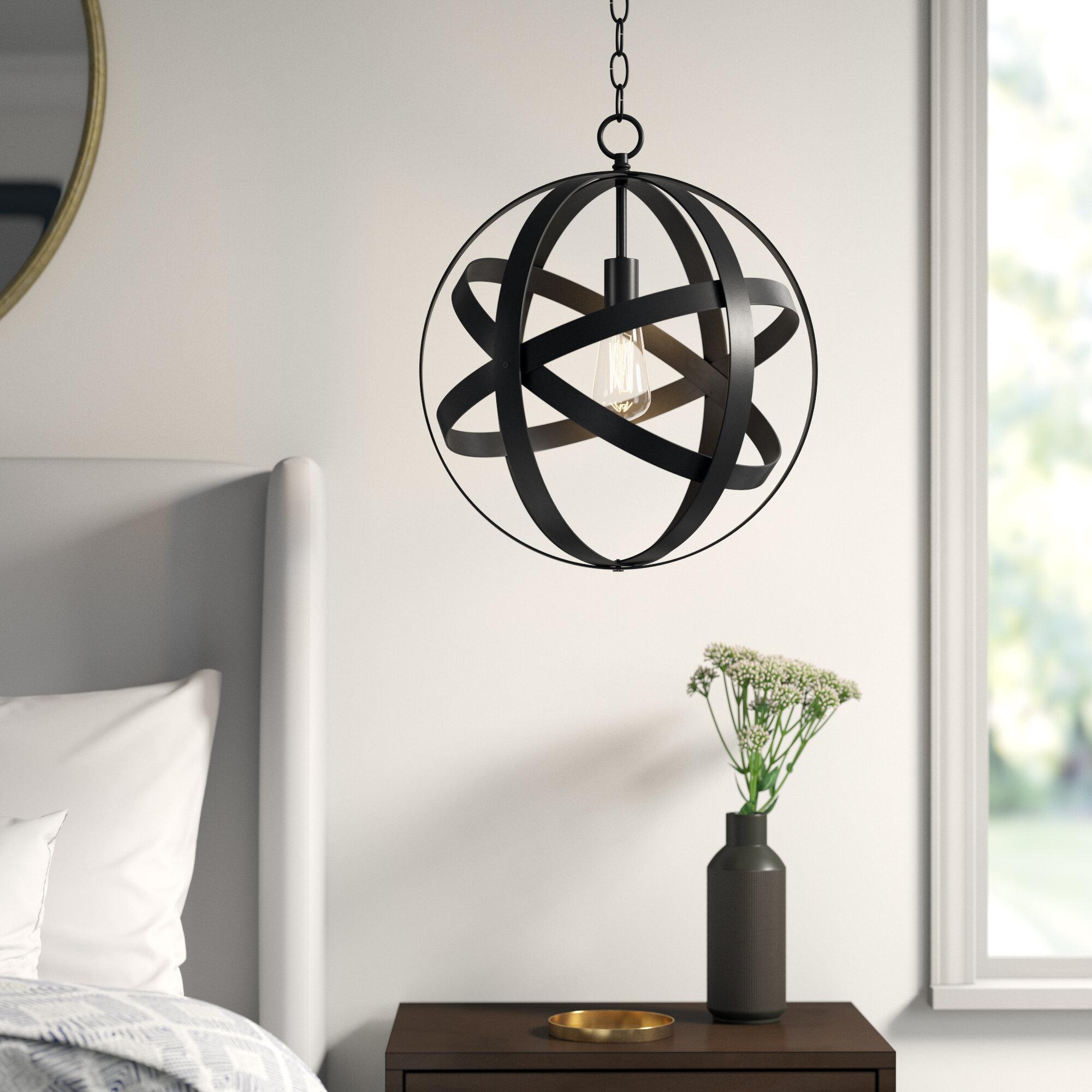 Ealey 1 Light Globe Pendant Throughout Irwin 1 Light Single Globe Pendants (Gallery 14 of 30)