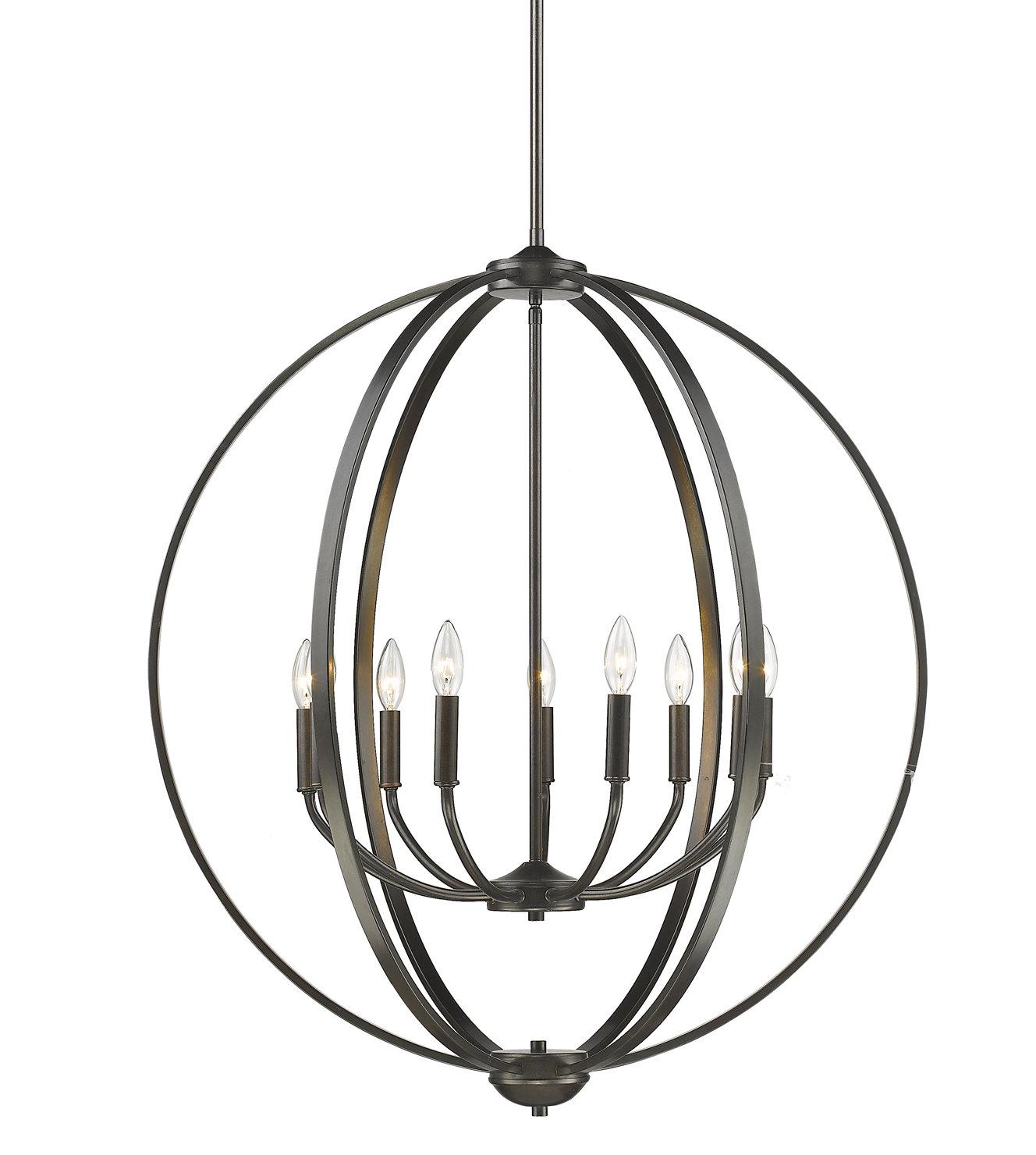 Earlene 9 Light Globe Chandelier For Kierra 4 Light Unique / Statement Chandeliers (View 15 of 30)