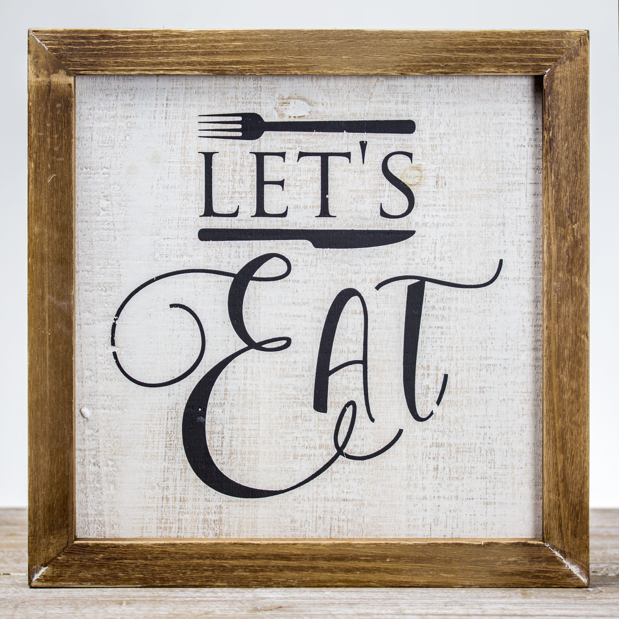 Eat Kitchen Signs | Wayfair.ca Pertaining To Casual Country Eat Here Retro Wall Decor (Photo 27 of 30)