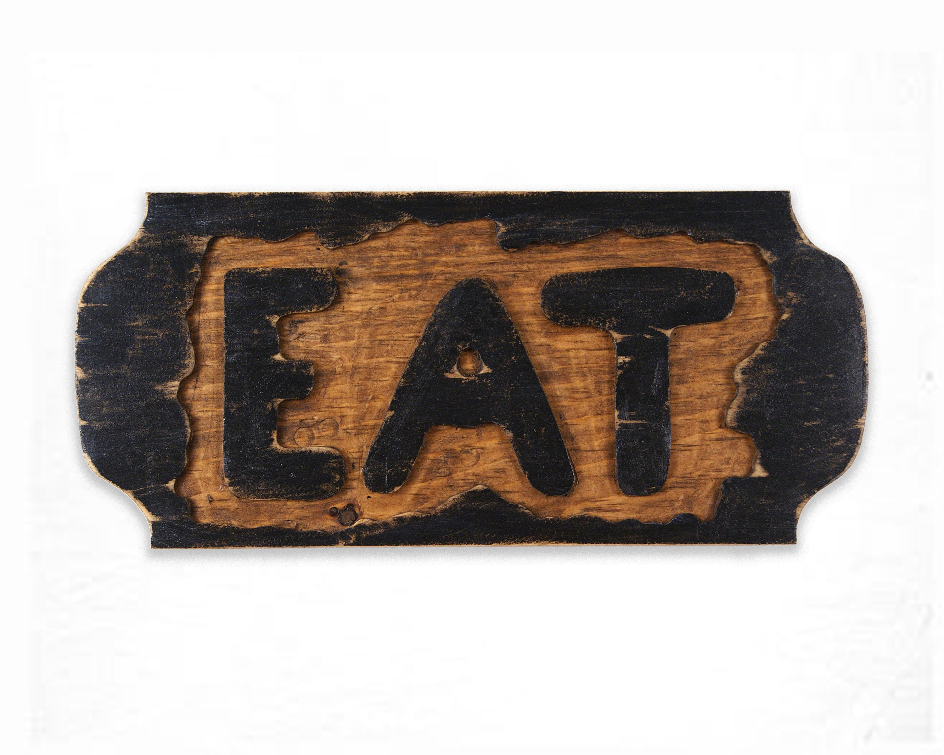 Eat Sign, Reclaimed Wood Wall Hanging, Rustic Wall Hanging Within Eat Rustic Farmhouse Wood Wall Decor (Photo 20 of 30)