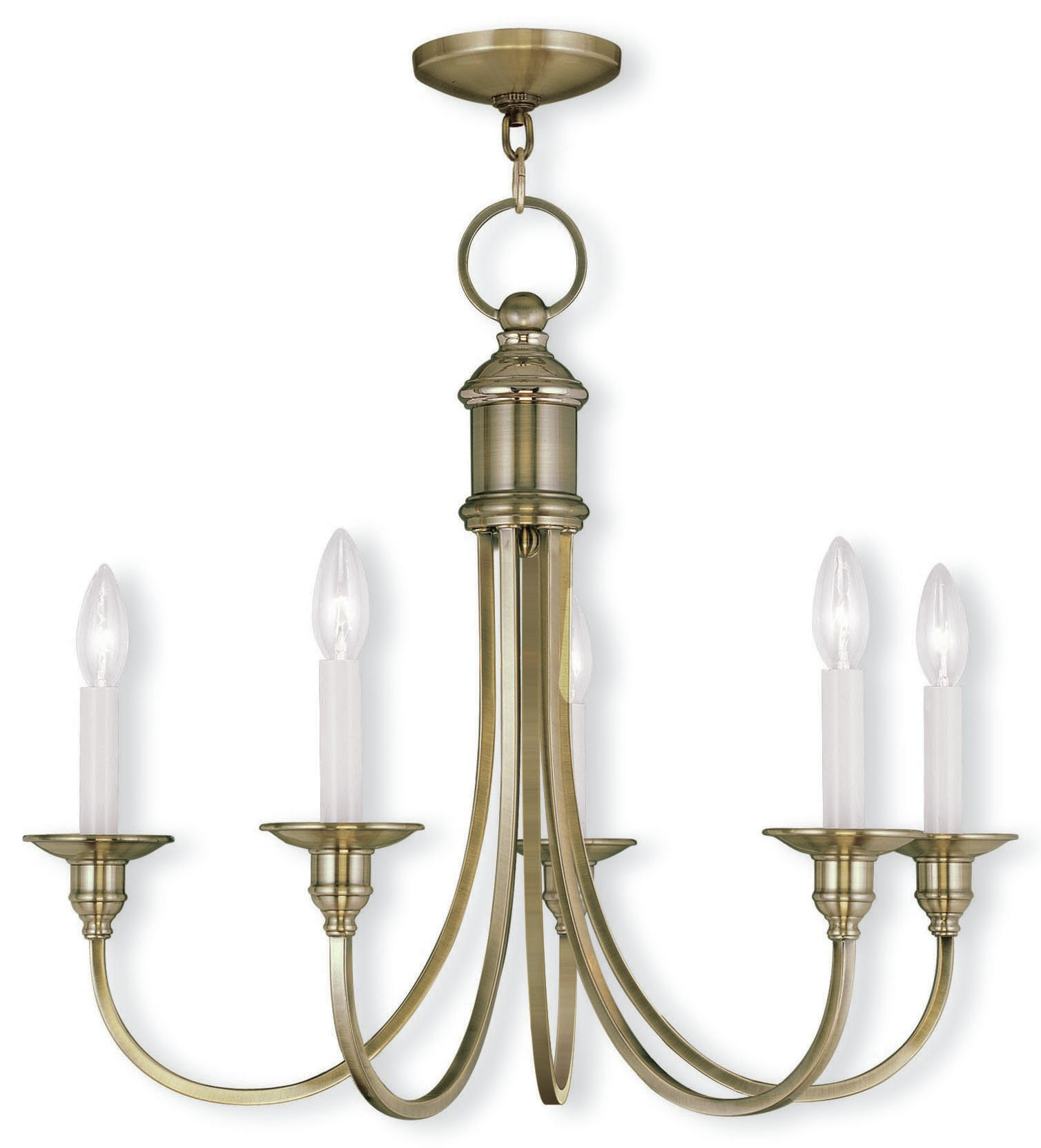 Eckard 5 Light Candle Style Chandelier Intended For Florentina 5 Light Candle Style Chandeliers (Gallery 30 of 30)