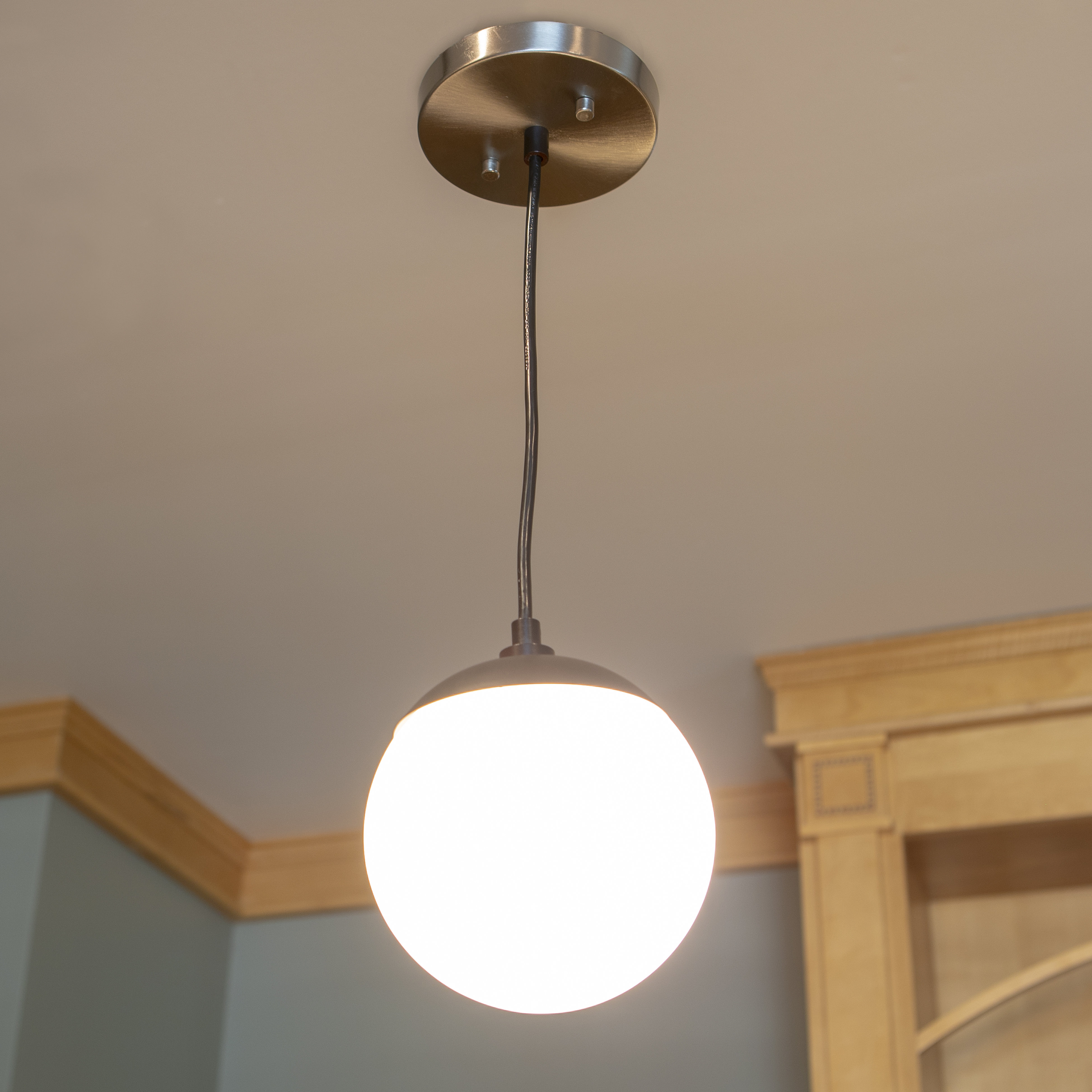 Eckstein 1-Light Globe Pendant with regard to Bautista 1-Light Single Globe Pendants (Image 22 of 30)