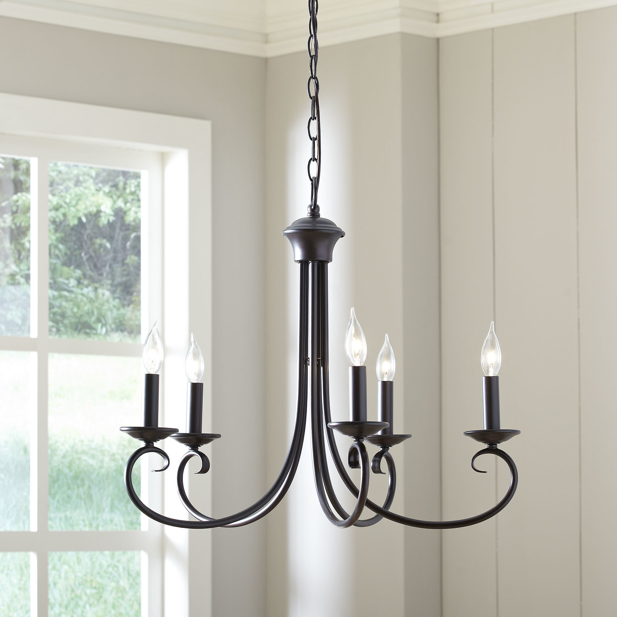 Edgell 5 Light Candle Style Chandelier For Florentina 5 Light Candle Style Chandeliers (Photo 7 of 30)