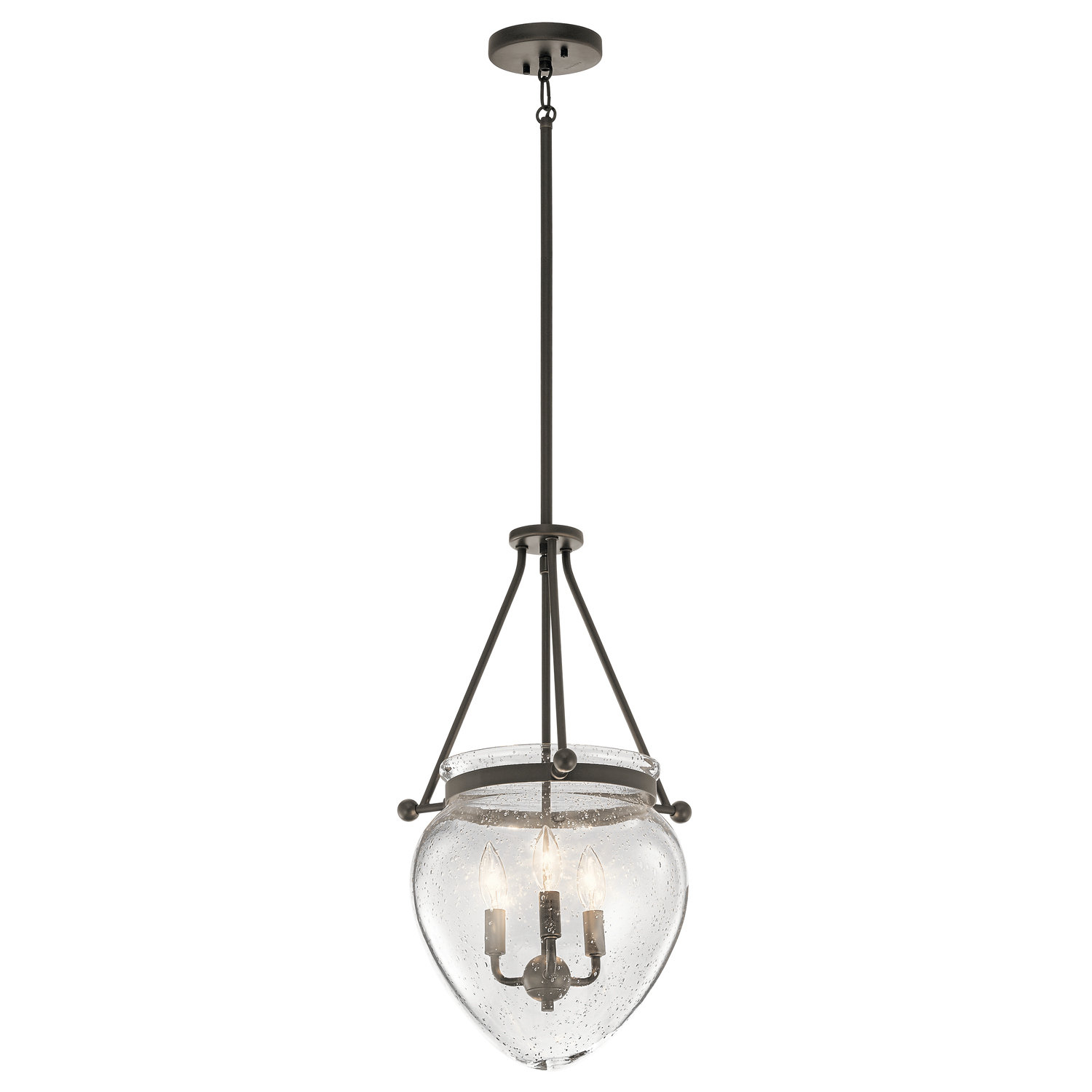 Edgemoor 3 Light Single Urn Pendant With Regard To 3 Light Single Urn Pendants (Gallery 5 of 30)
