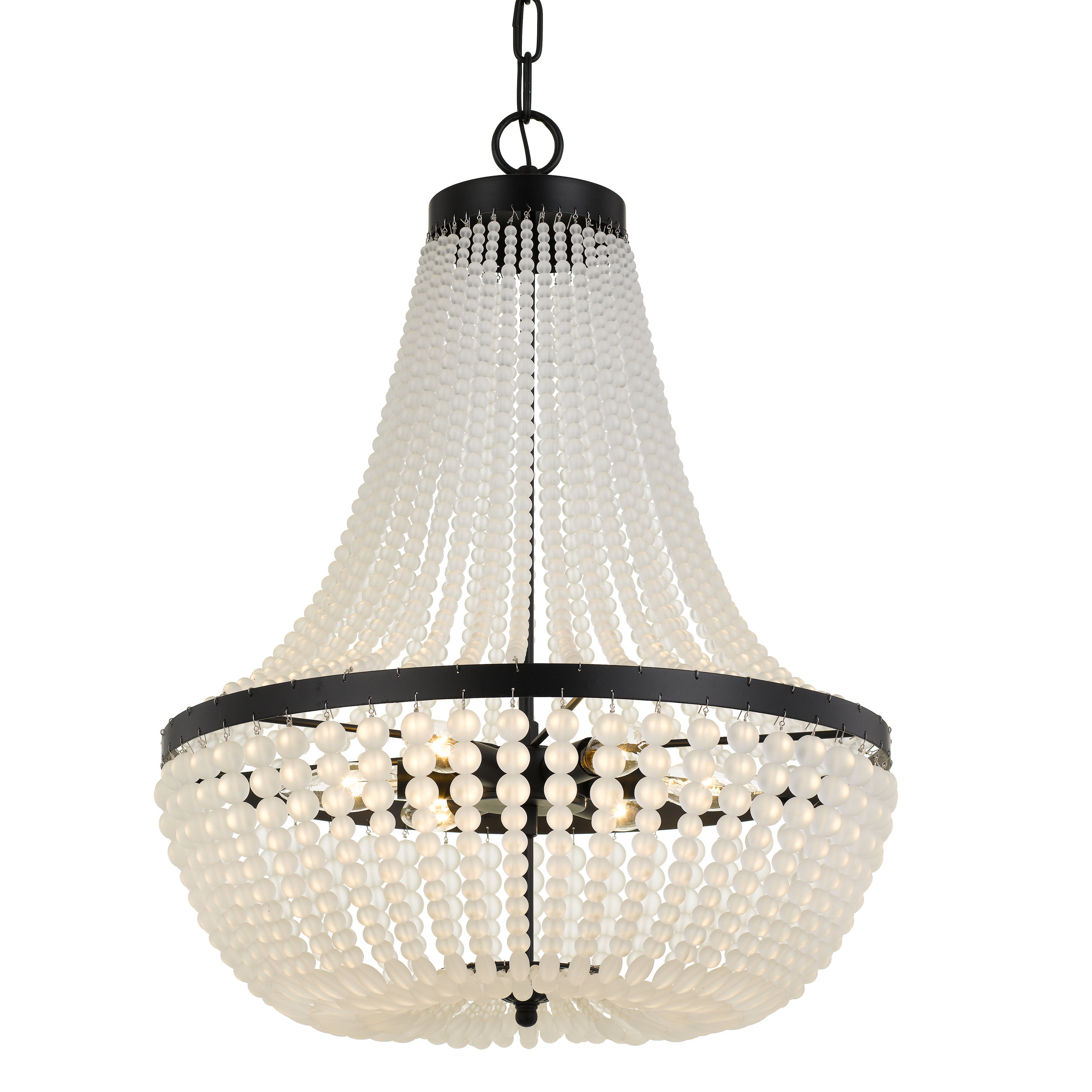 Egidio 6 Light Chandelier Intended For Duron 5 Light Empire Chandeliers (Gallery 26 of 30)