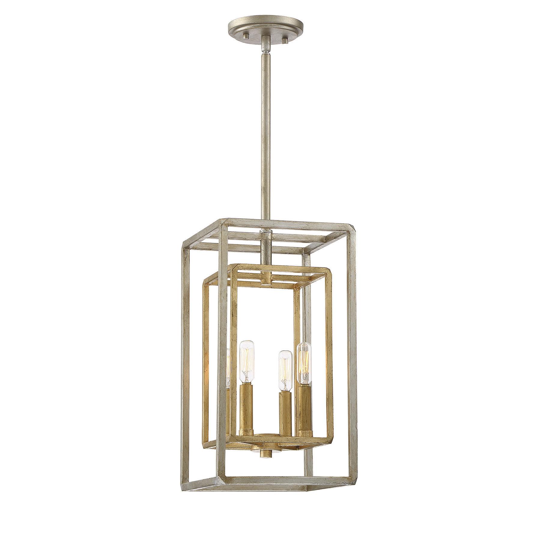 Eglantina 4 Light Lantern Square / Rectangle Pendant For 4 Light Lantern Square / Rectangle Pendants (Gallery 15 of 30)