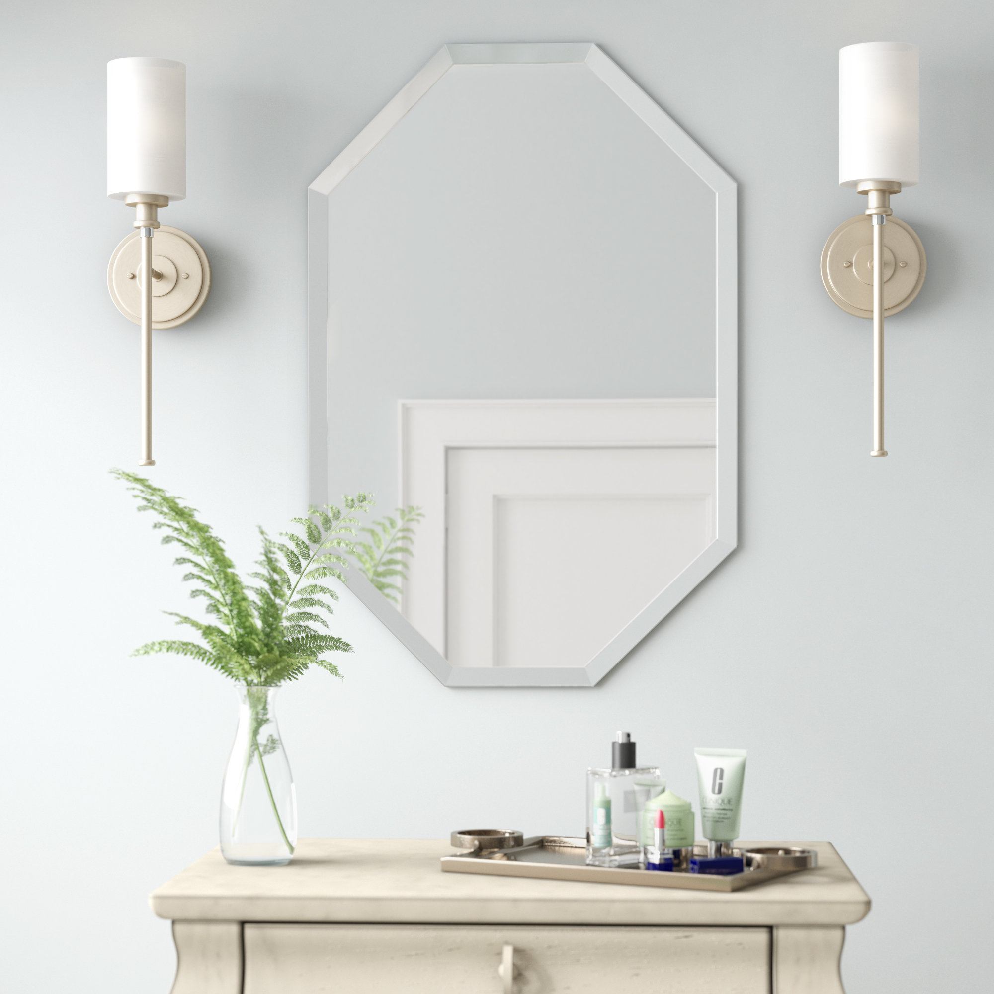 Egor Accent Mirror Inside Guidinha Modern & Contemporary Accent Mirrors (Gallery 21 of 30)
