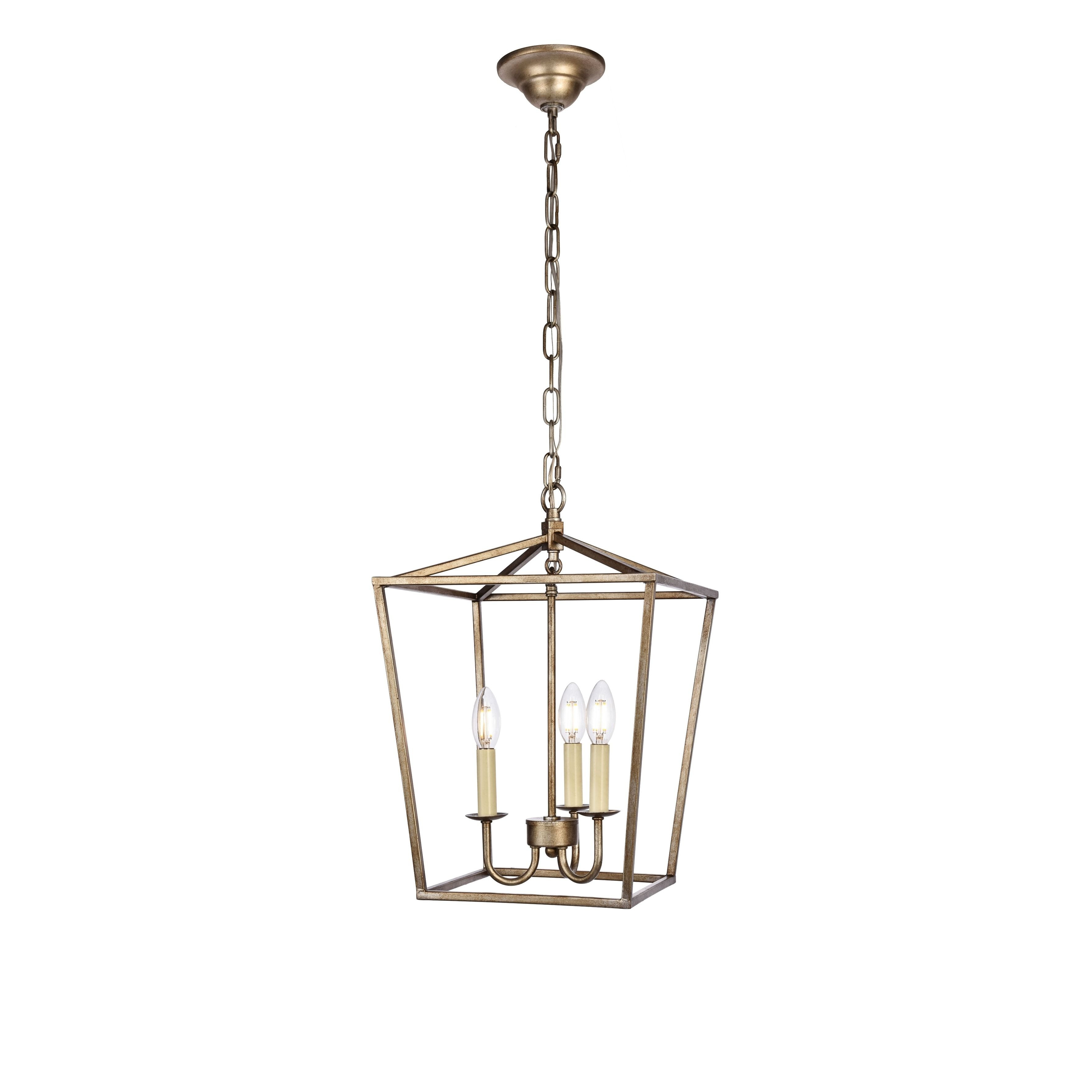 Elegant Maddox Collection Pendant D12.5 H18.25 Lt:3 Vintage For Finnick 3 Light Lantern Pendants (Gallery 10 of 30)