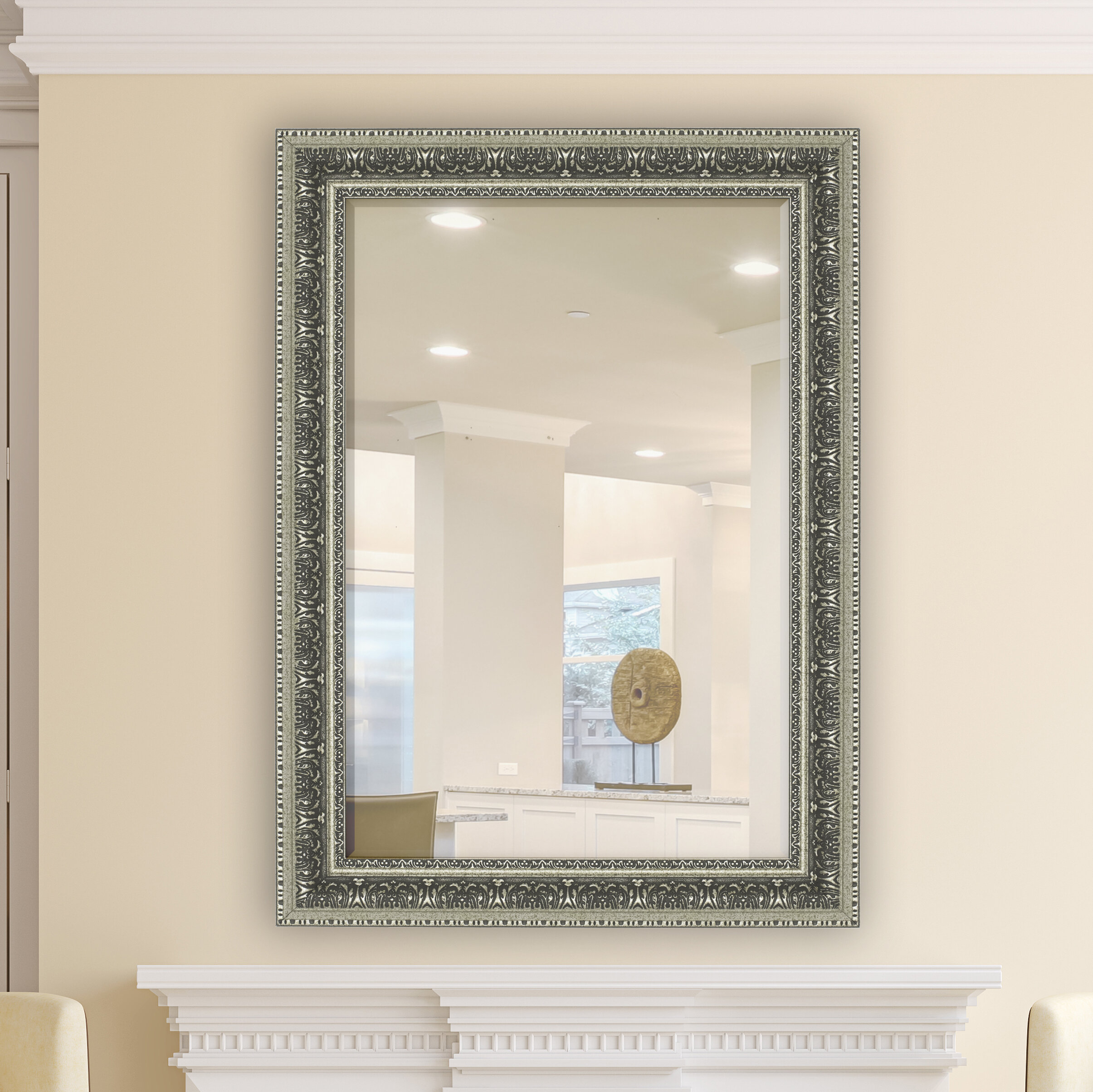 Elegant Wall Mirror | Wayfair Throughout Epinal Shabby Elegance Wall Mirrors (Photo 7 of 30)