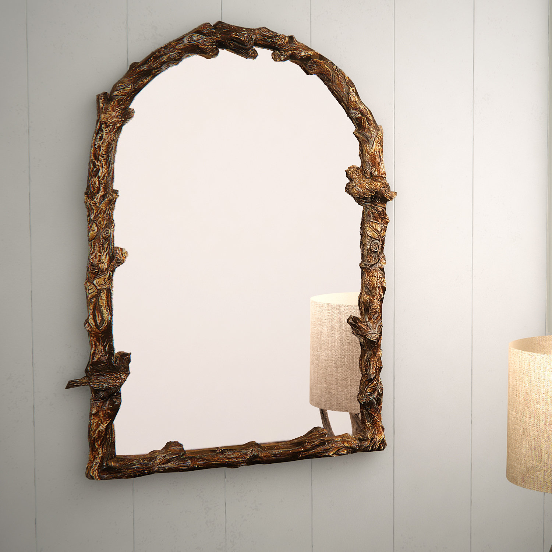 Eliana Traditional Wall Mirror Regarding Traditional Metal Wall Mirrors (View 17 of 30)