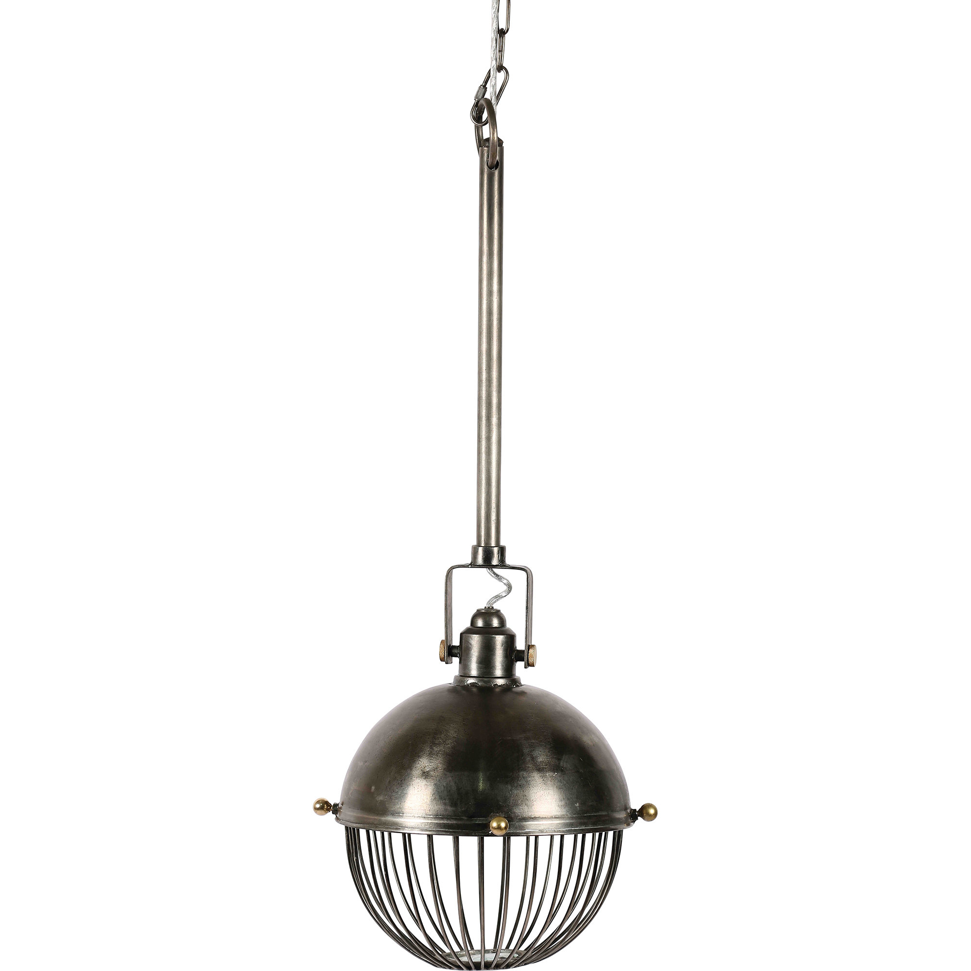Elkins 1 Light Globe Pendant Within Amara 3 Light Dome Pendants (Gallery 14 of 30)