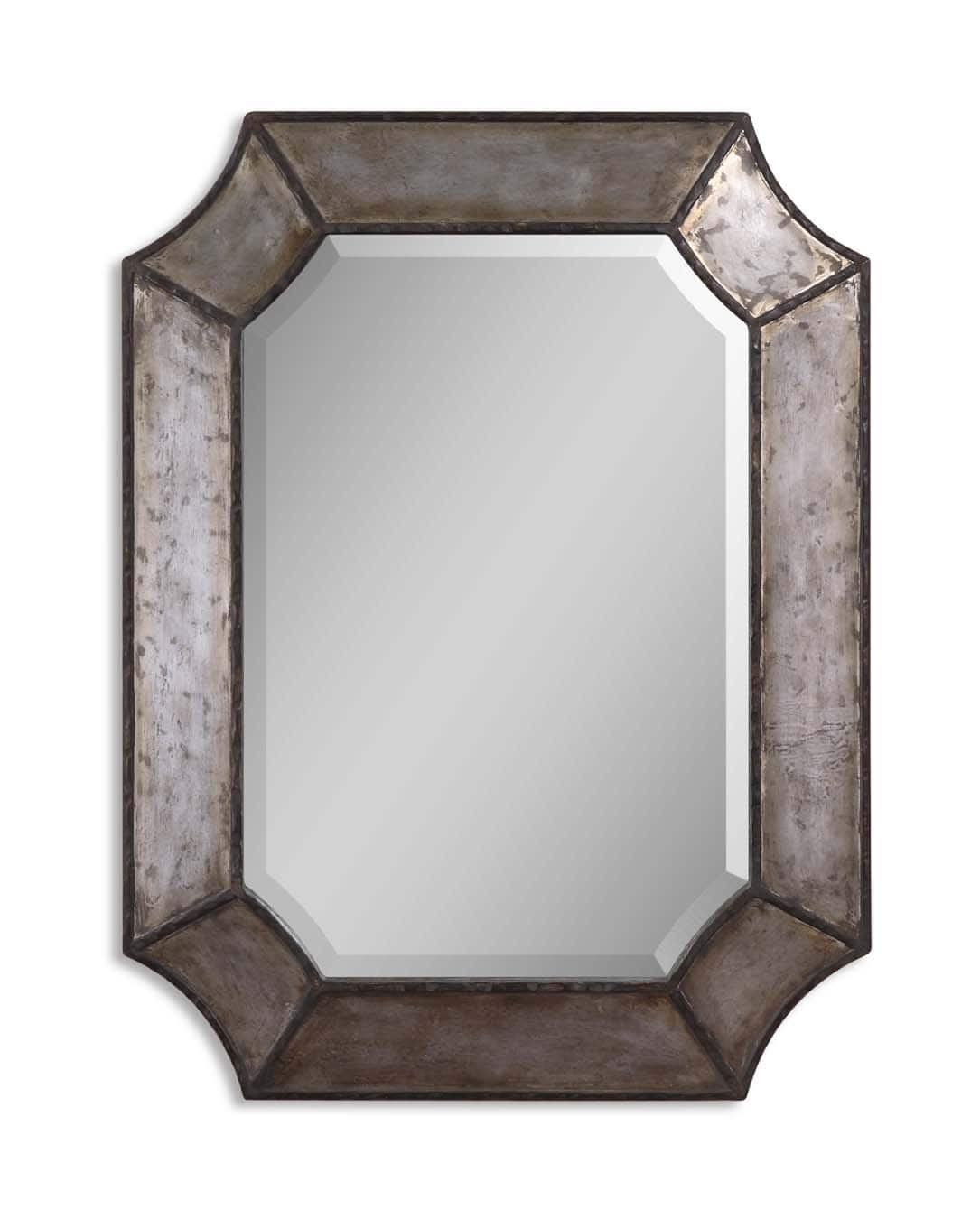 Elliot Small Metal Wall Mirroruttermost – 24″ X 32″ With Traditional Metal Wall Mirrors (Gallery 24 of 30)