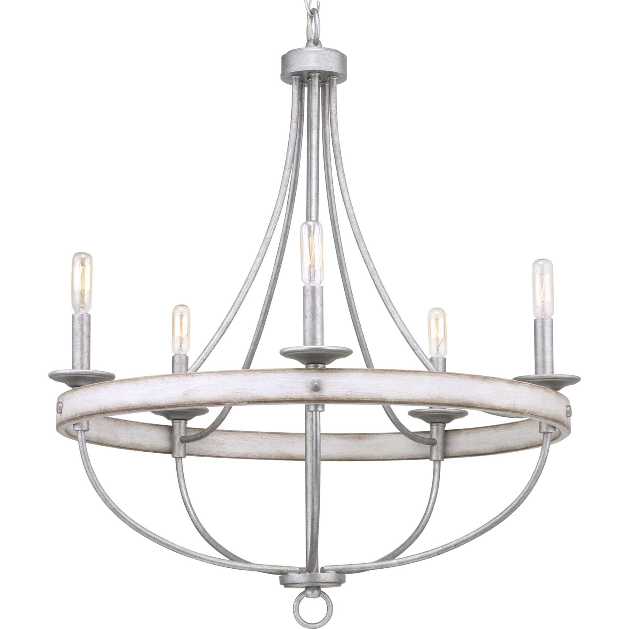 Emaria 5 Light Candle Style Chandelier Throughout Phifer 6 Light Empire Chandeliers (Gallery 29 of 30)