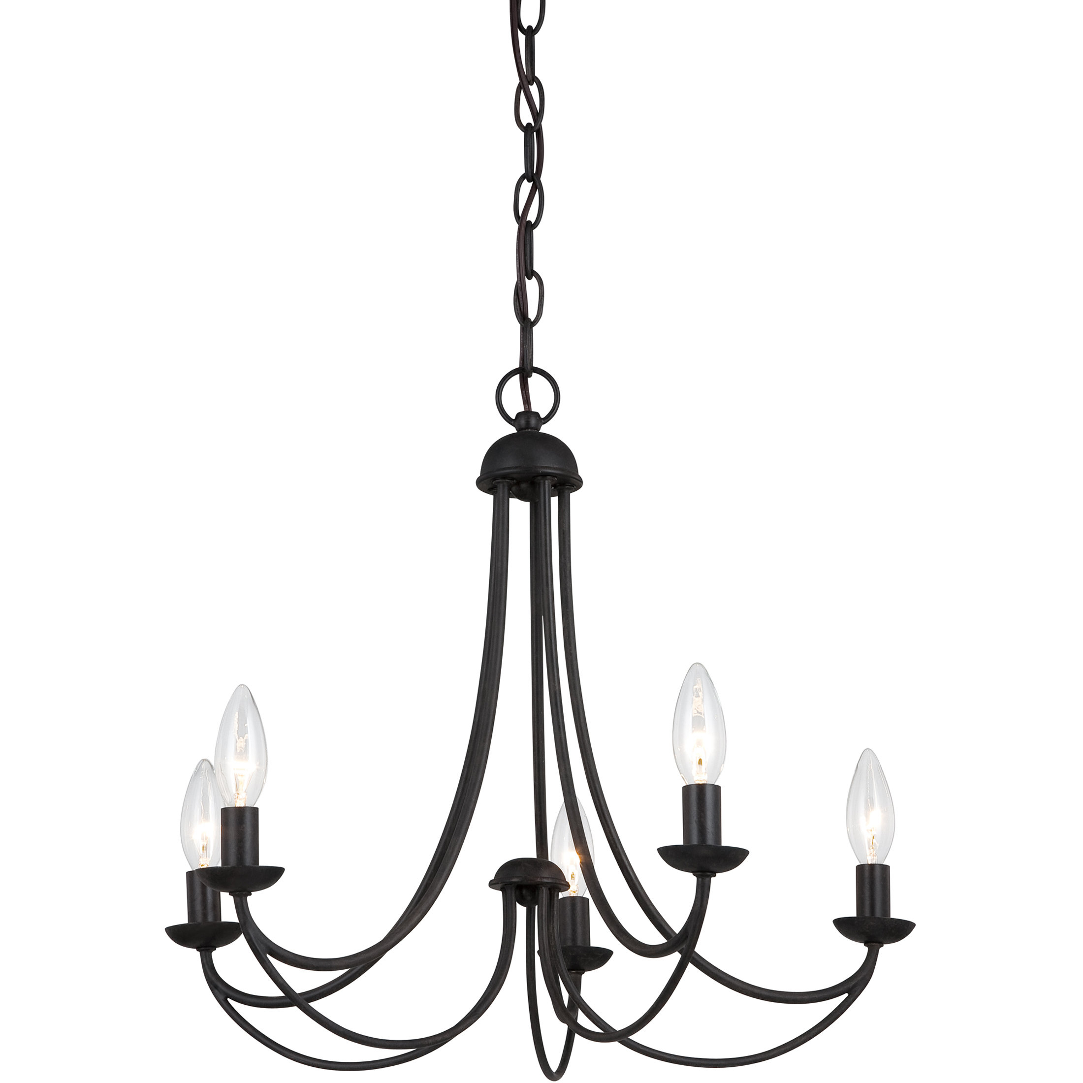 Emilia Candle Style Chandelier Inside Duron 5 Light Empire Chandeliers (Gallery 29 of 30)