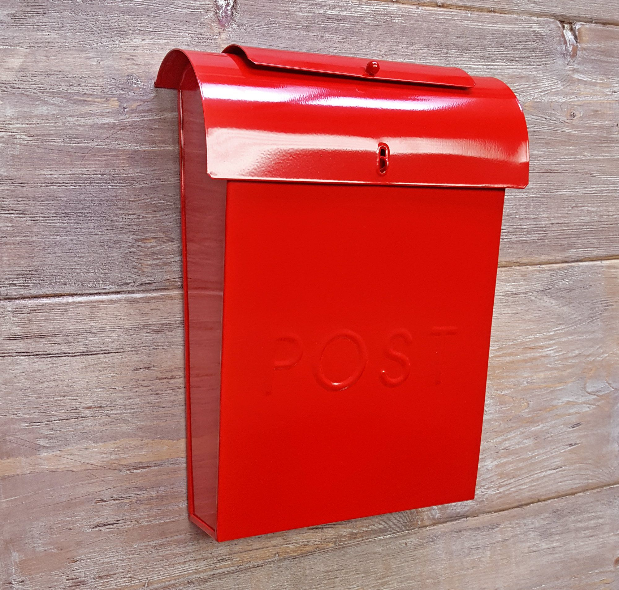 Emily Post Industrial Style Wall Mounted Mailbox   Products Inside Lacordaire Wall Mounted Mailbox (View 10 of 30)