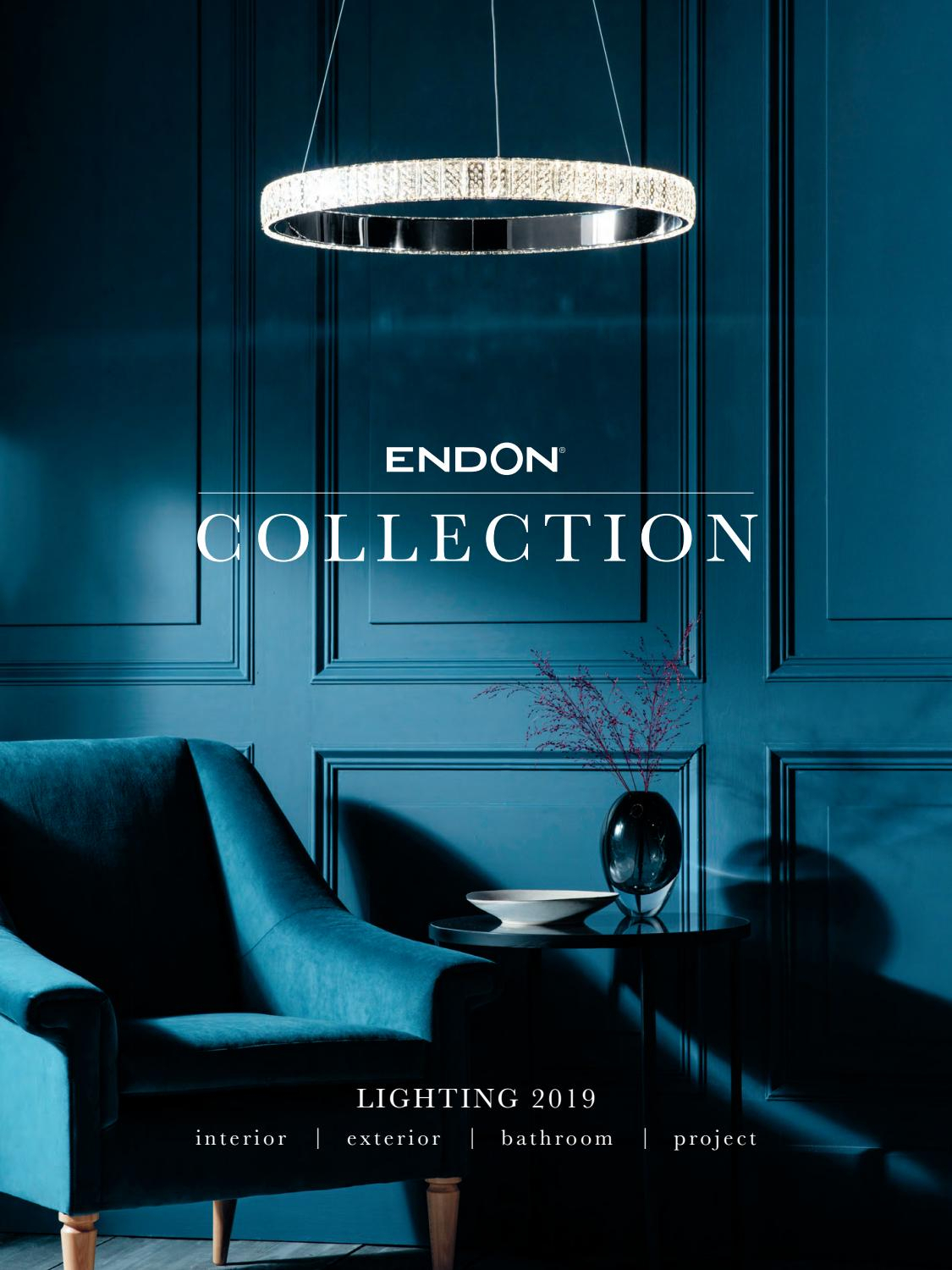 Endon Lighting Collection 2019Endon Lighting – Issuu With Regard To Hurst 1 Light Single Cylinder Pendants (Gallery 24 of 30)