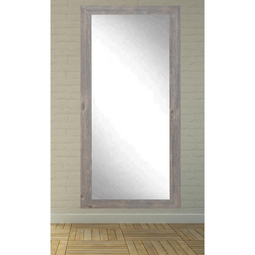 Entzuckend Rustic Wooden Full Length Mirror Frame Ideas Throughout Industrial Full Length Mirrors (View 6 of 30)