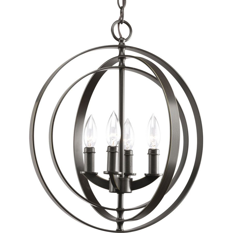 Equinox 16 In 4 Light Antique Bronze Globe Chandelier | Home Intended For Hendry 4 Light Globe Chandeliers (View 17 of 30)