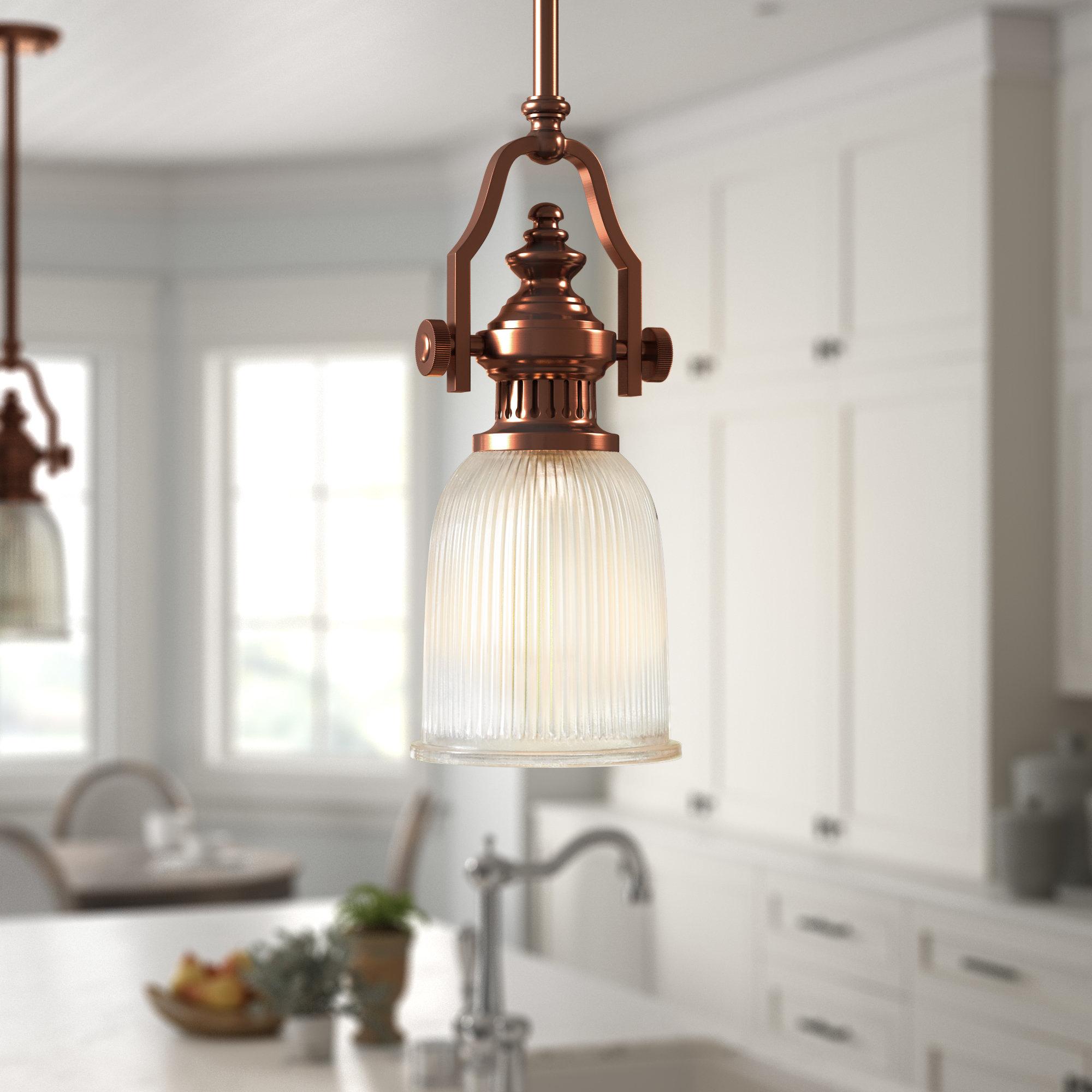Erico 1 Light Single Bell Pendant For 1 Light Single Bell Pendants (View 9 of 30)