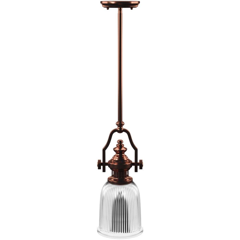 Erico 1 Light Single Bell Pendant Regarding 1 Light Single Bell Pendants (View 10 of 30)