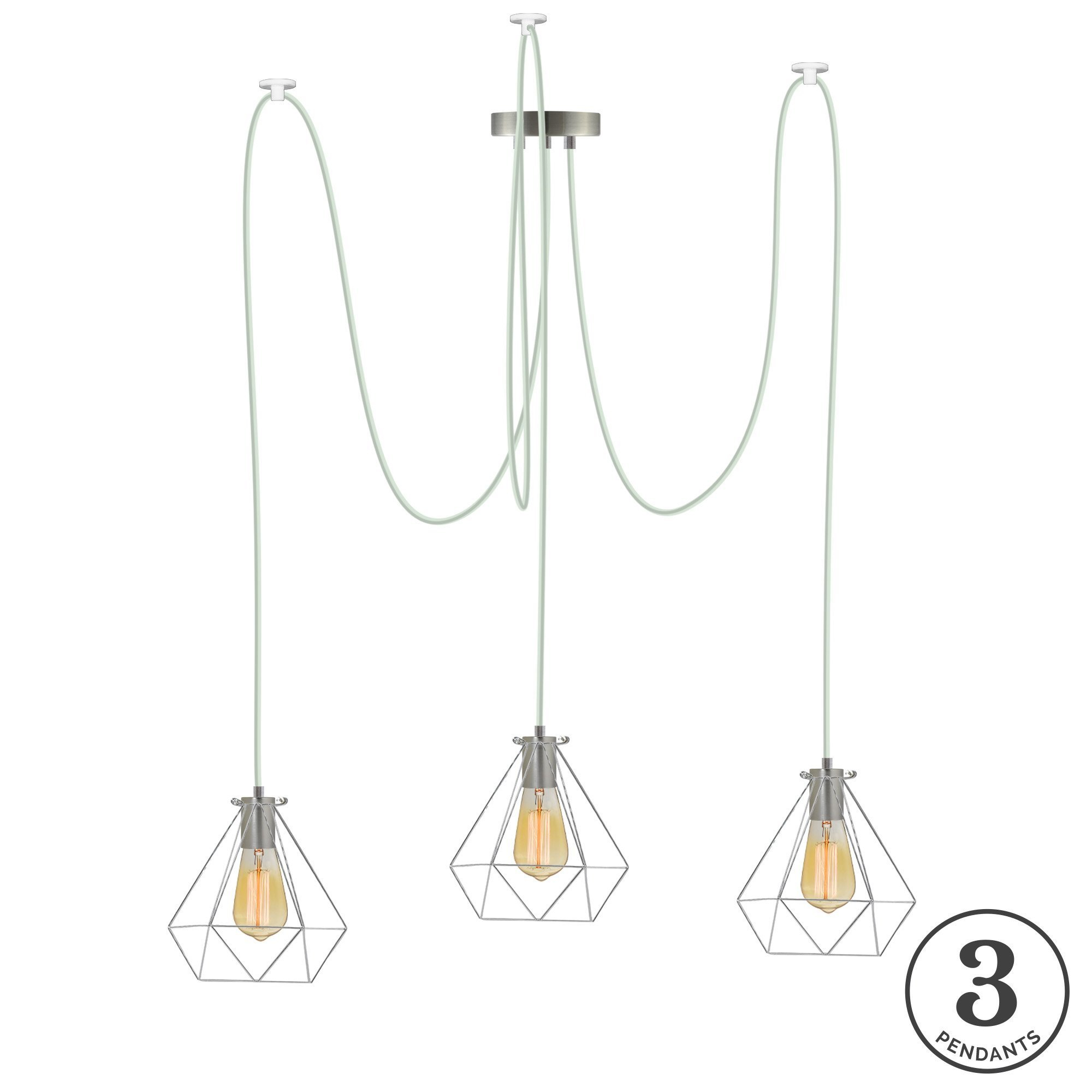 Esai 3 Light Cluster Pendant With Gattilier 3 Light Cluster Pendants (Photo 6 of 30)