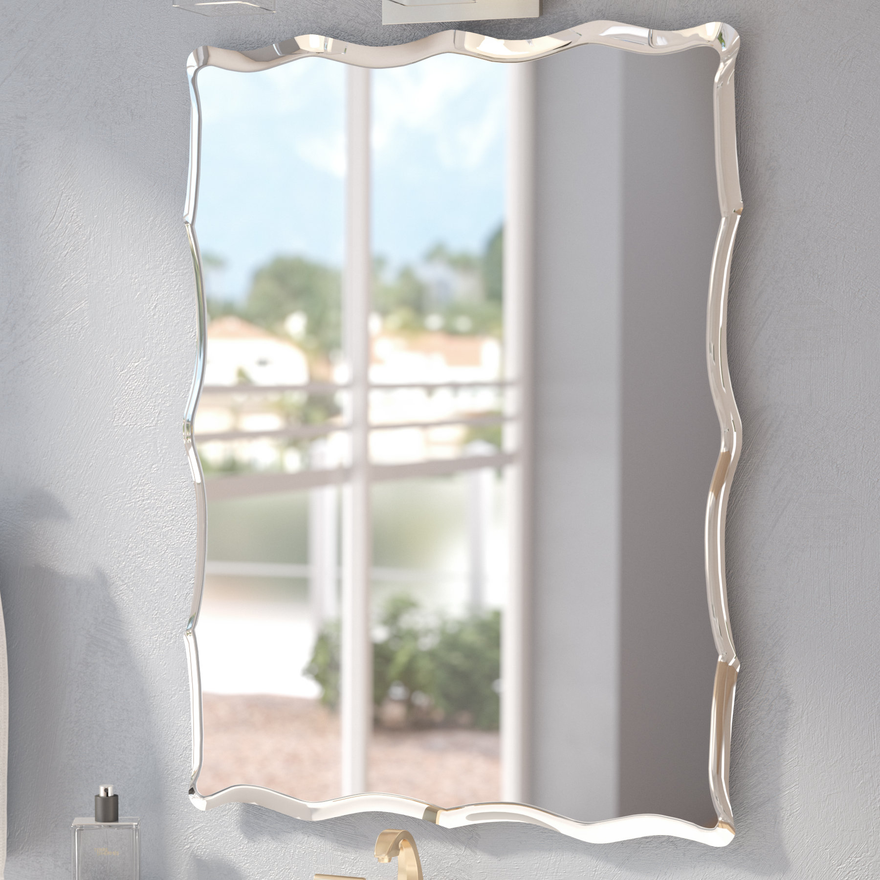Featured Photo of Estefania Frameless Wall Mirrors