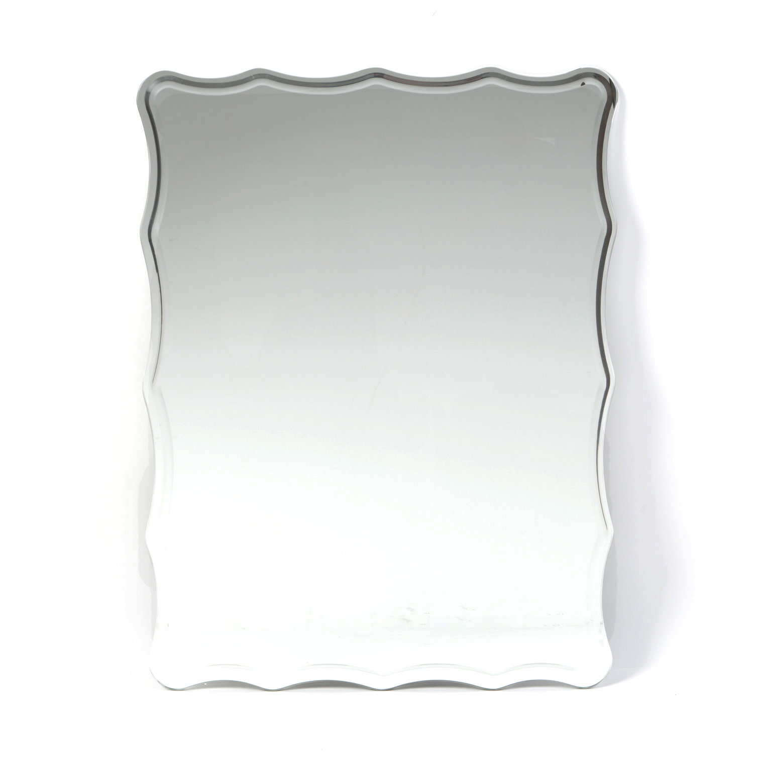 Estefania Frameless Wall Mirror pertaining to Estefania Frameless Wall Mirrors (Image 11 of 30)