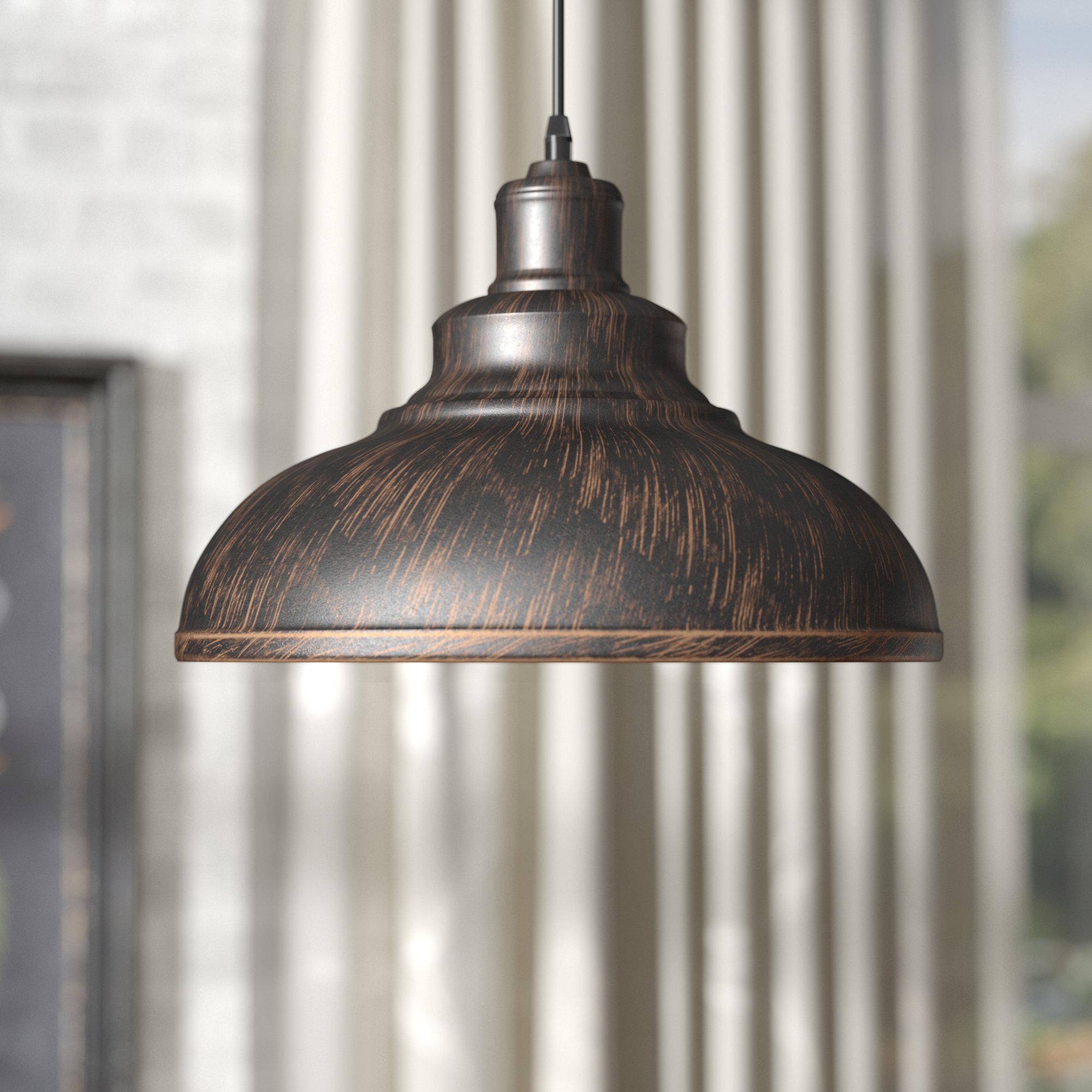 Estella 1 Light Dome Pendant Inside Fresno Dome 1 Light Bell Pendants (Photo 21 of 30)