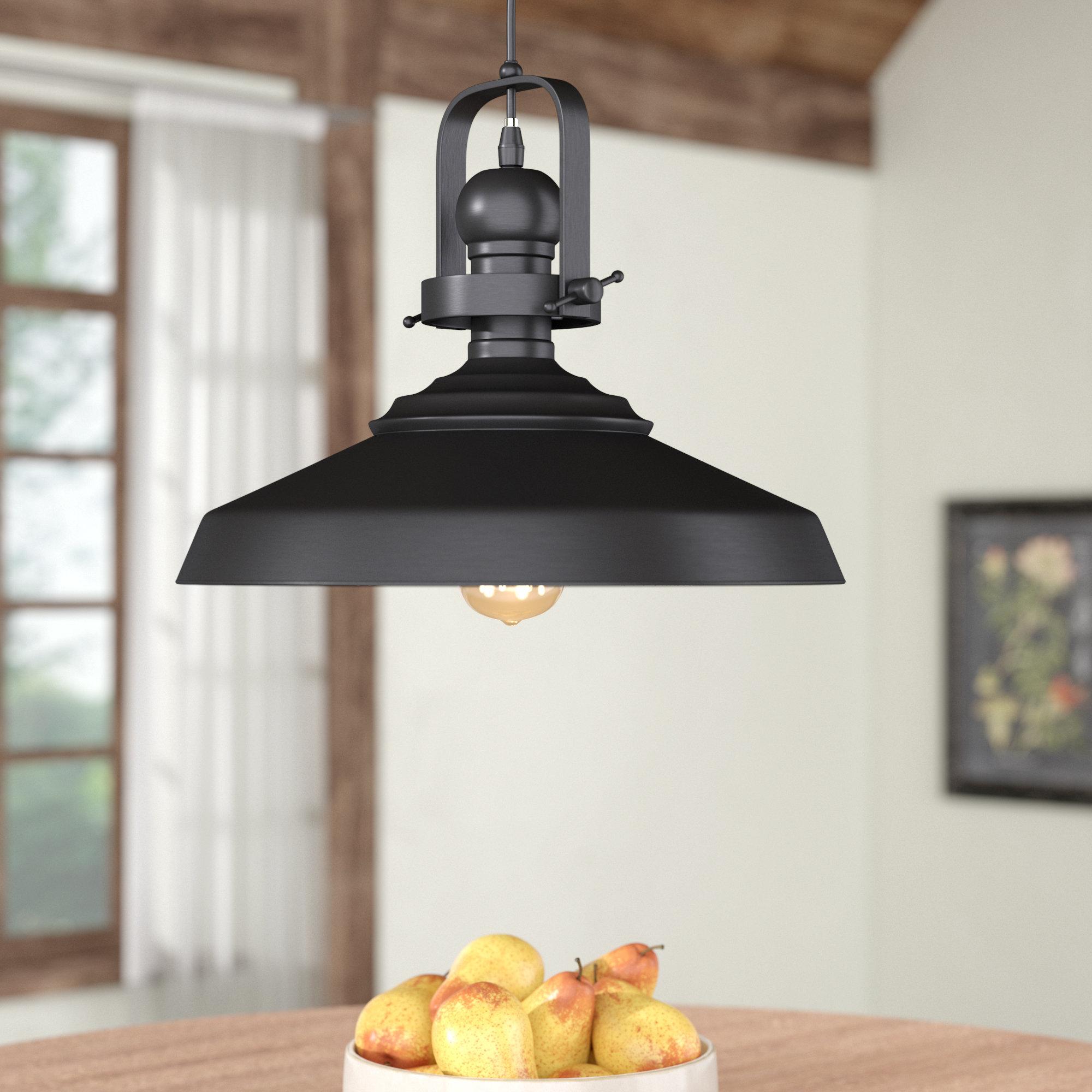Estelle 1 Light Single Dome Pendant Intended For Stetson 1 Light Bowl Pendants (Gallery 27 of 30)