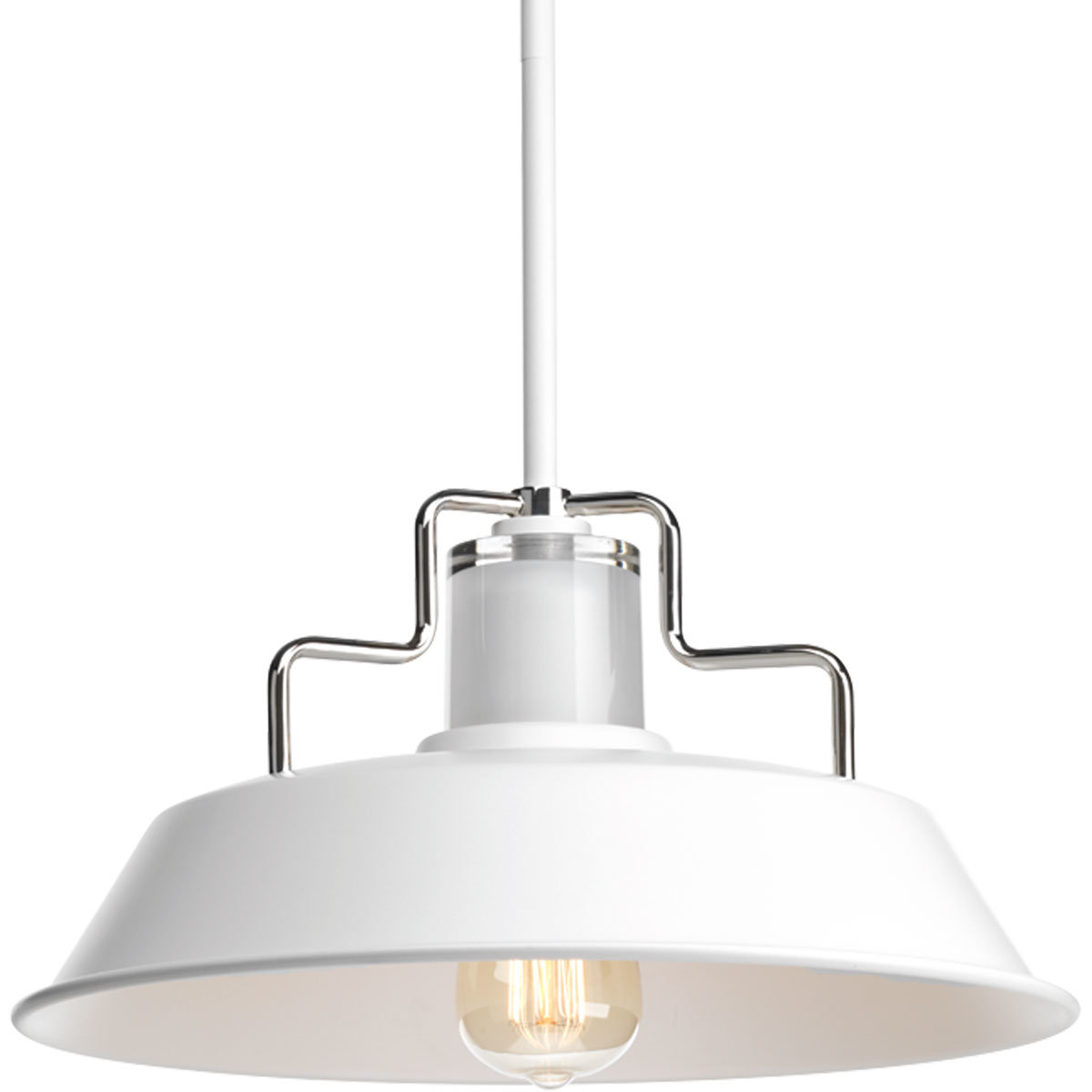 Estevao 1 Light Inverted Pendant With Regard To Gattis 1 Light Dome Pendants (Photo 27 of 30)