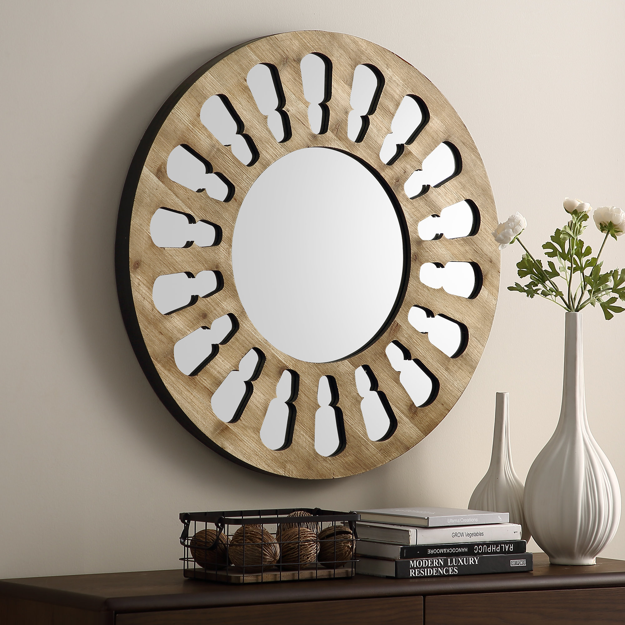 Estevao Accent Mirror Intended For Hub Modern And Contemporary Accent Mirrors (View 1 of 30)