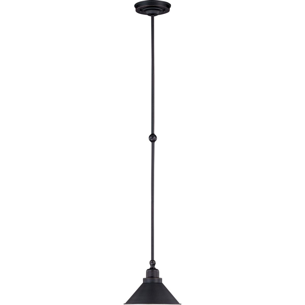 Euclid 1 Light Single Cone Pendant For Euclid 2 Light Kitchen Island Linear Pendants (Photo 18 of 30)