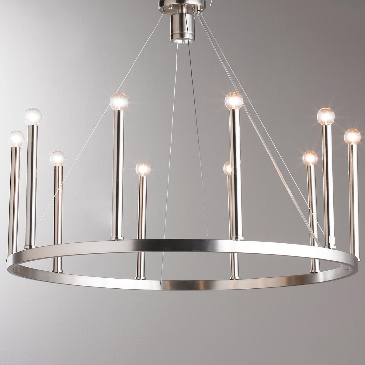 Euro Modern Candelabra Chandelier – 11 Light | Modern Inside Eastbourne 6 Light Unique / Statement Chandeliers (Gallery 23 of 30)