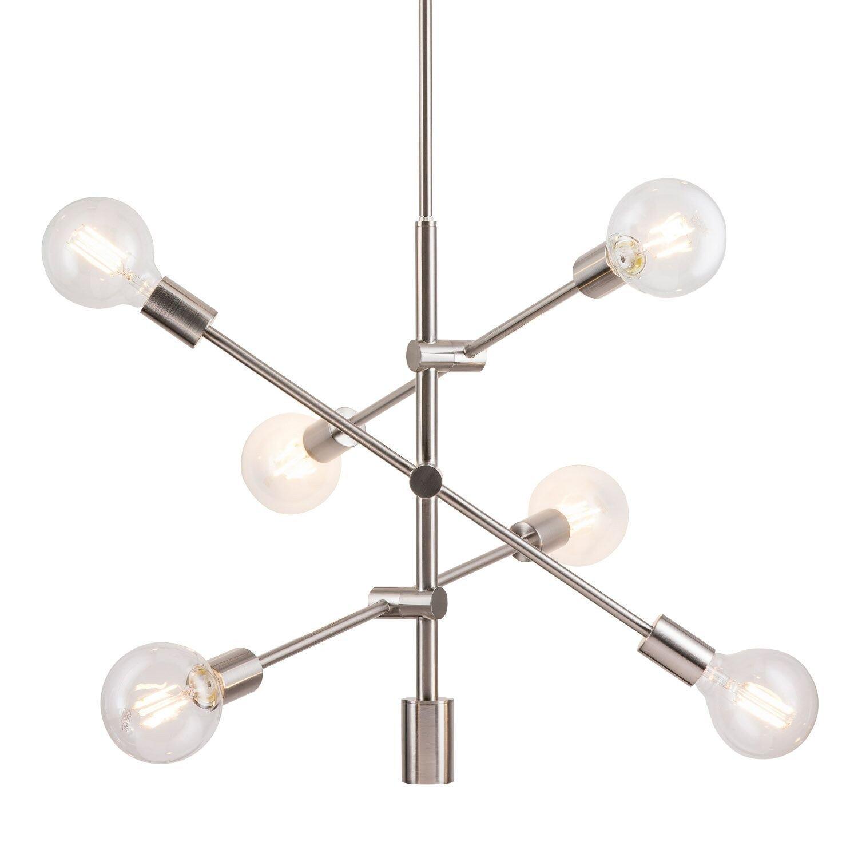 Everett 10 Light Sputnik Chandelier | Allmodern Throughout Silvia 6 Light Sputnik Chandeliers (Gallery 19 of 30)