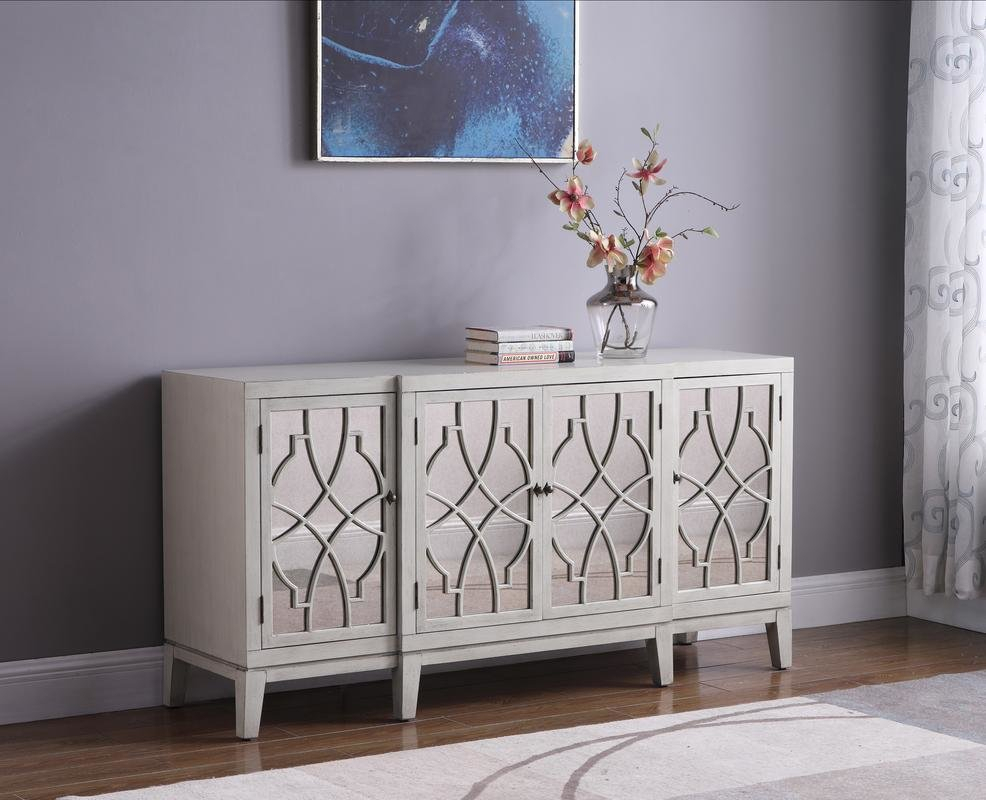 Everly Quinn Knobel Sideboard | Wayfair Intended For Rutherford Sideboards (Gallery 3 of 30)