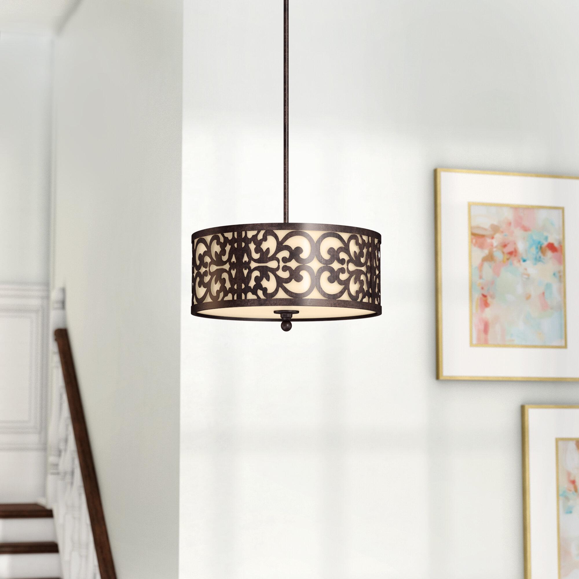 Extra Large Pendant Lighting | Wayfair Inside Balducci 5 Light Pendants (Gallery 27 of 30)
