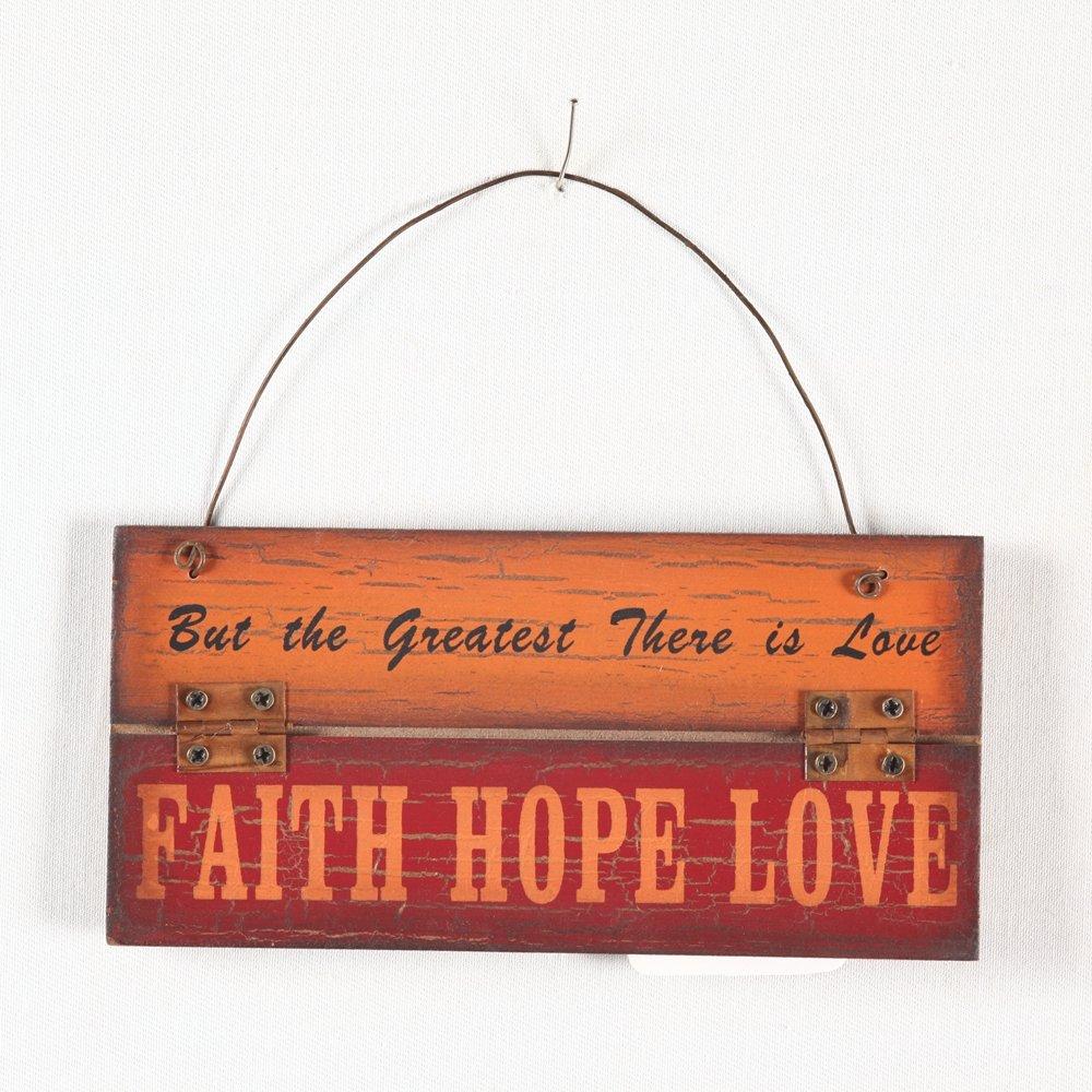 Faith Decor   Wayfair Regarding Faith, Hope, Love Raised Sign Wall Decor (View 20 of 30)