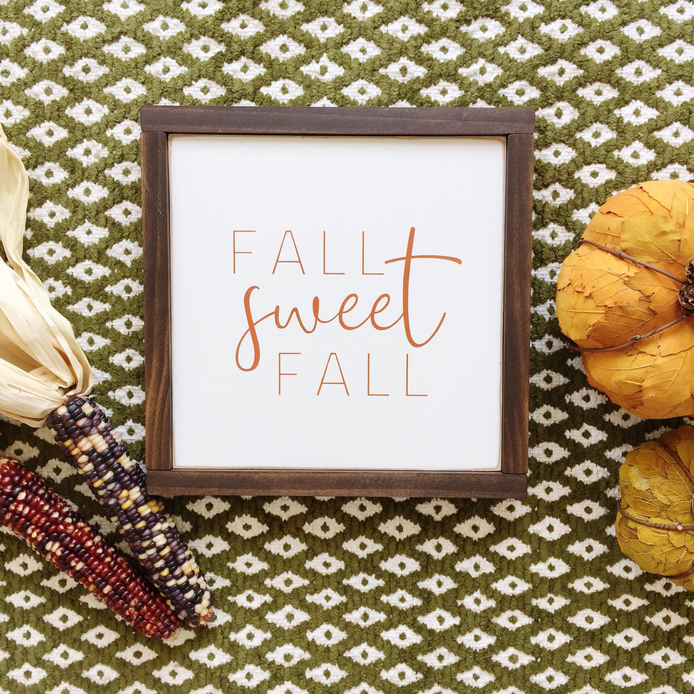 "Fall Sweet Fall | 12"" Square 
