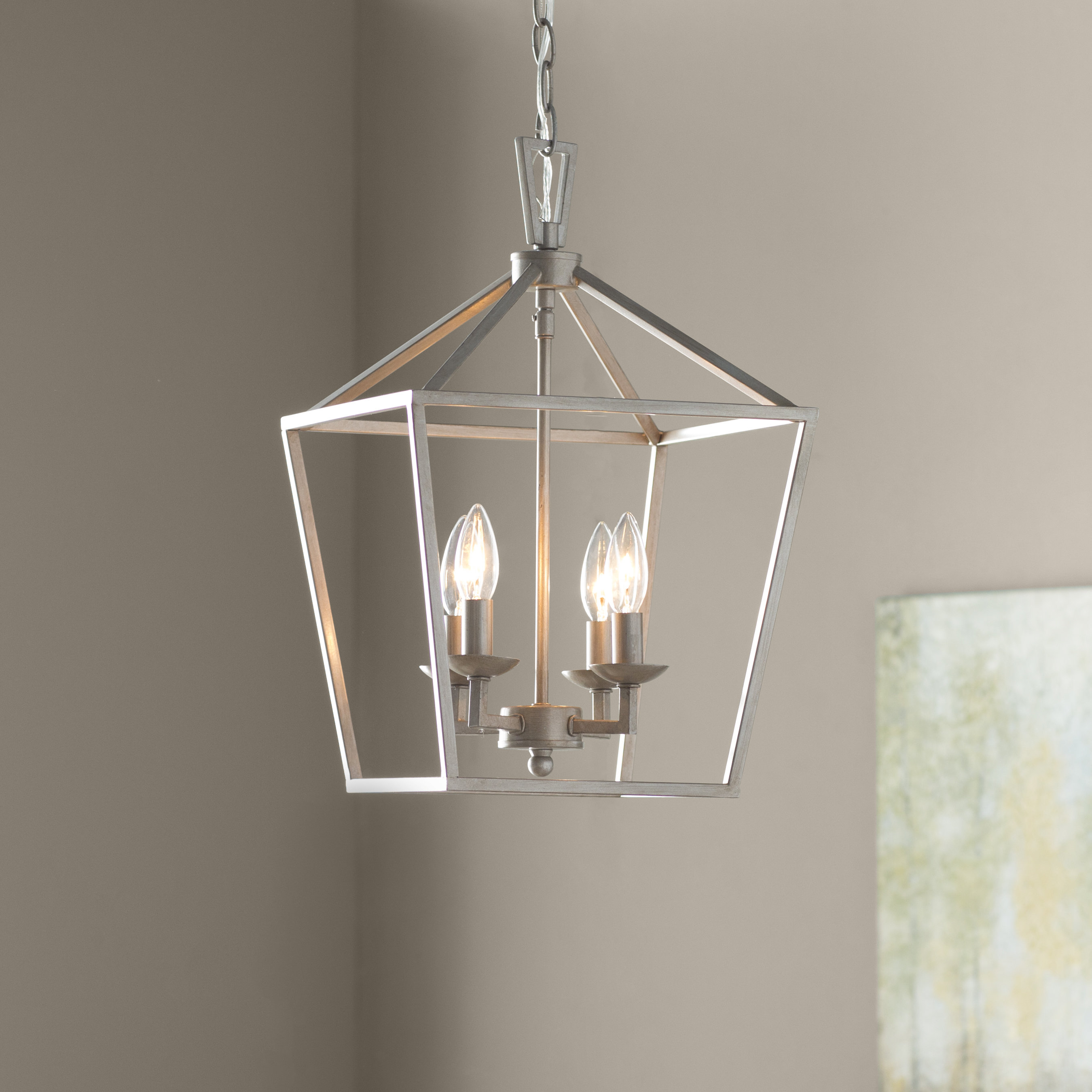 Farmhouse Kitchen Chandelier You'll Love In 2019 | Wayfair Inside Millbrook 5 Light Shaded Chandeliers (View 15 of 30)