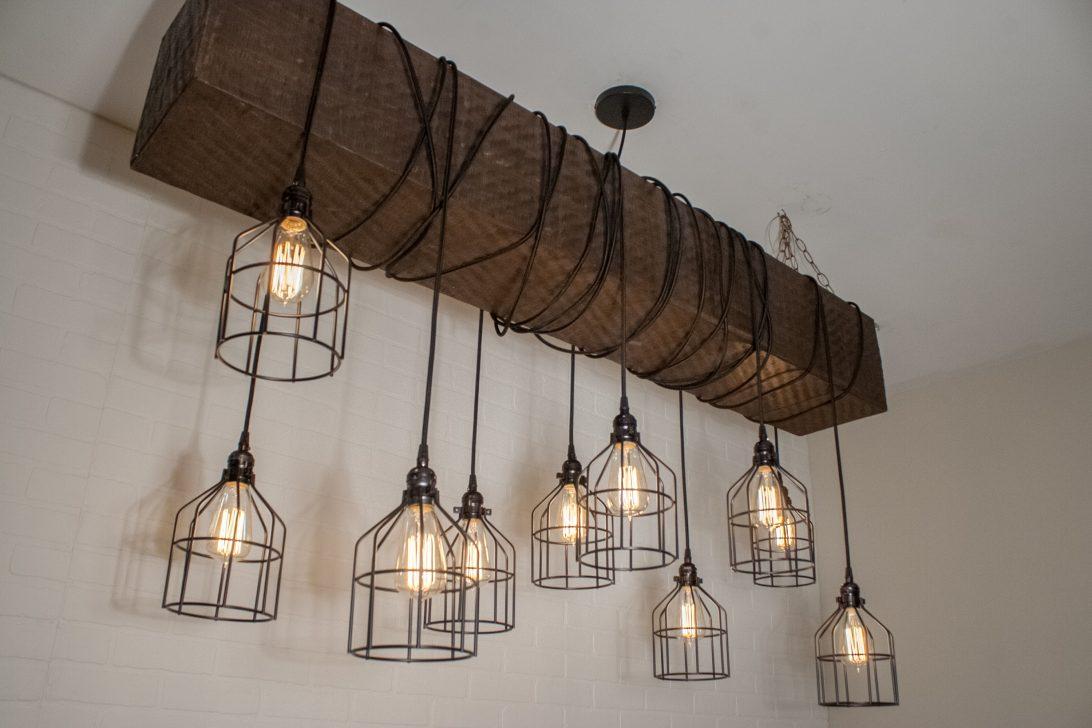Farmhouse Lighting Ideas Vintage Flush Mount Kitchen Lowes throughout Delon 4-Light Square Chandeliers (Image 14 of 30)