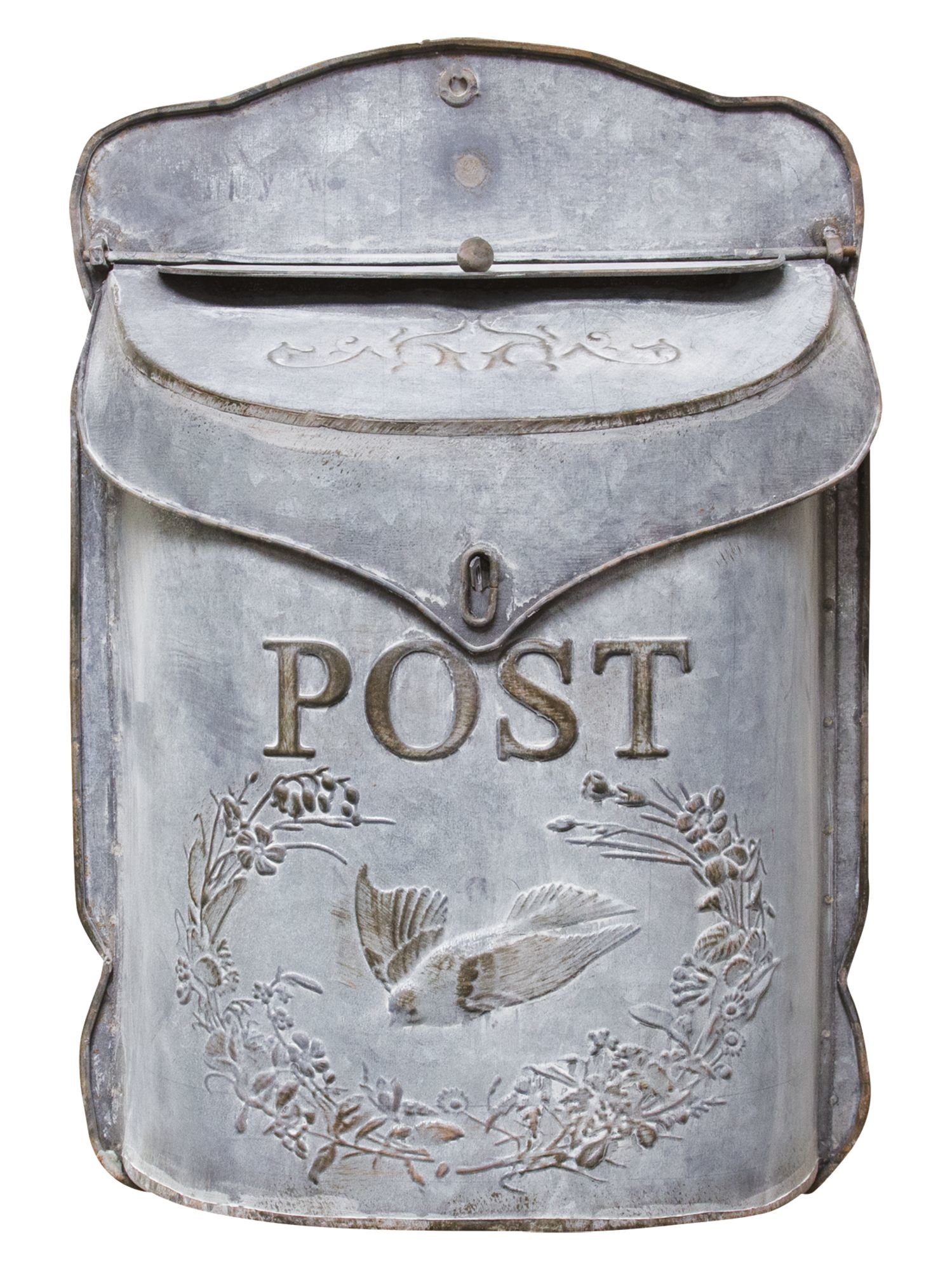 Farmhouse Mailbox | Wayfair.ca in Lacordaire Wall Mounted Mailbox (Image 11 of 30)