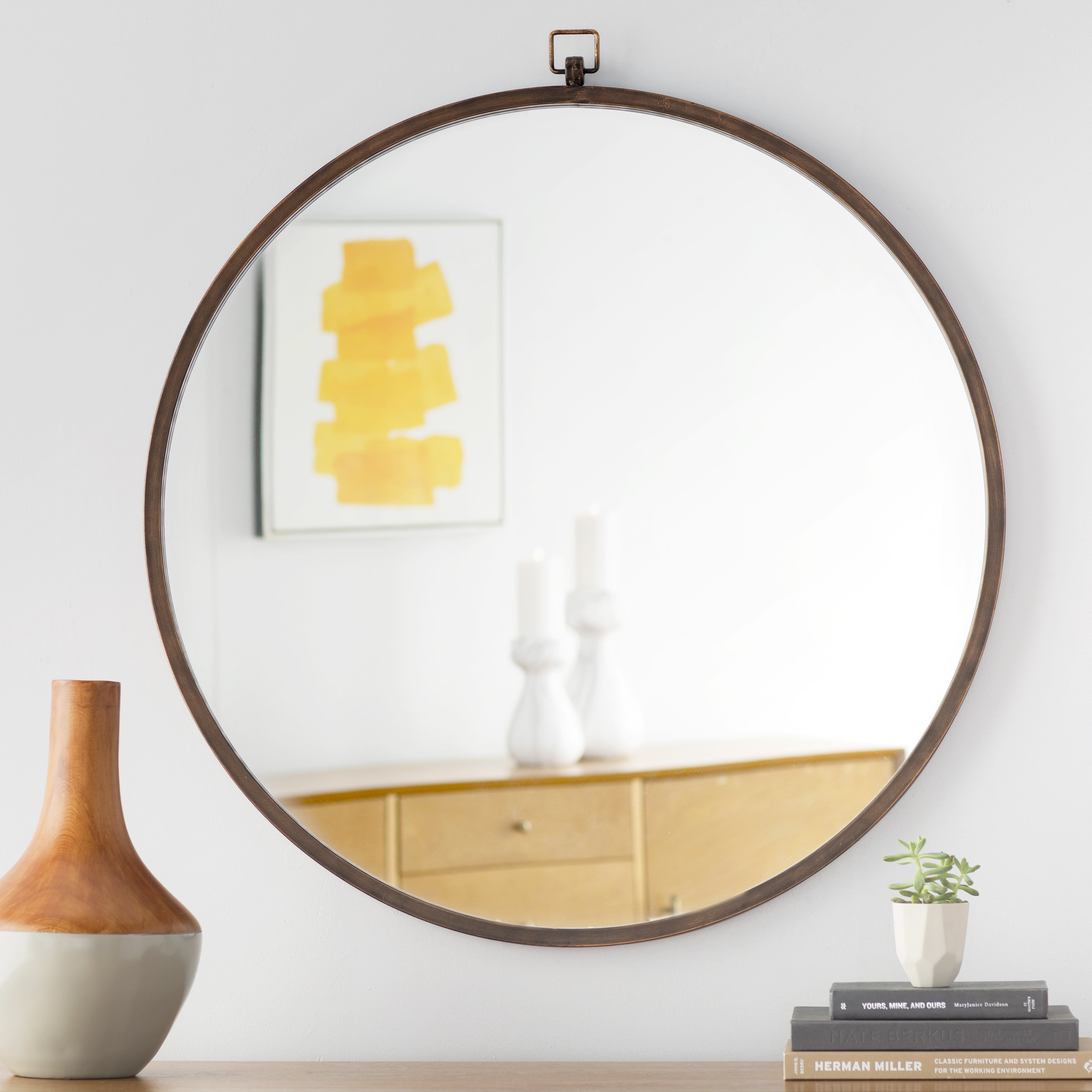 Farmhouse Mirrors | Birch Lane With Regard To Menachem Modern & Contemporary Accent Mirrors (Image 11 of 30)