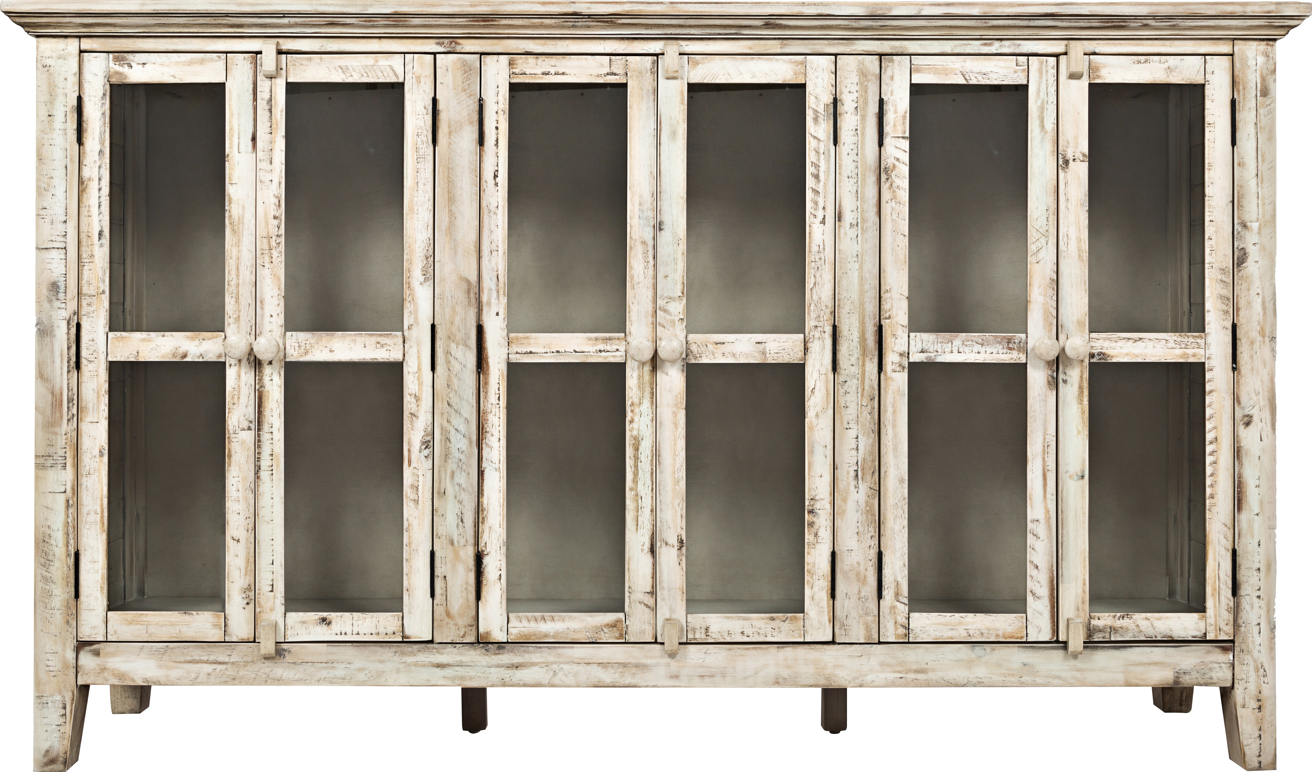 Farmhouse & Rustic Accent Chests & Cabinets | Birch Lane inside Kara 4 Door Accent Cabinets (Image 14 of 30)