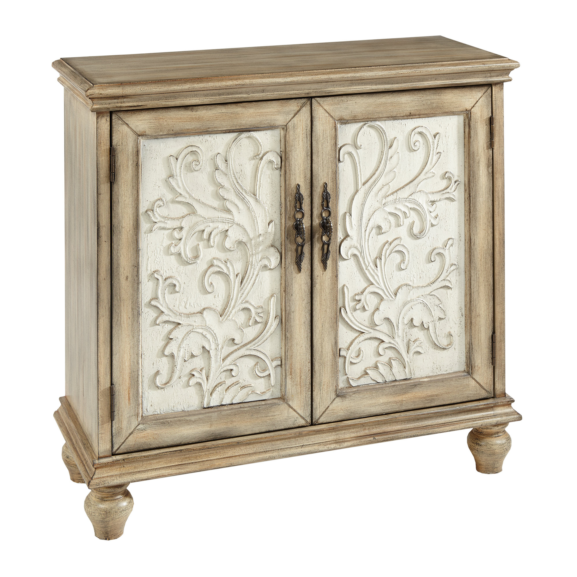 Farmhouse & Rustic Accent Chests & Cabinets | Birch Lane regarding Kara 4 Door Accent Cabinets (Image 15 of 30)