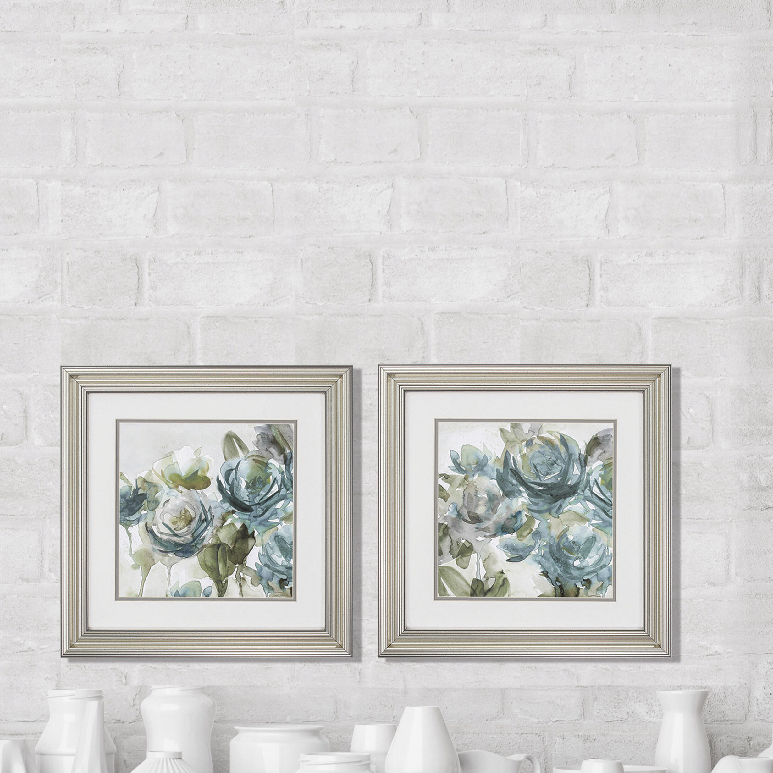 Farmhouse & Rustic Alcott Hill Wall Art | Birch Lane For Vase And Bowl Wall Decor By Alcott Hill (View 15 of 30)