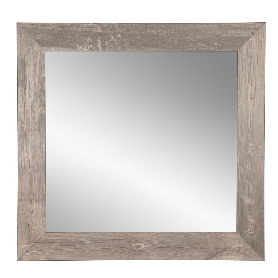 Farmhouse & Rustic Bathroom Mirrors   Birch Lane With Point Reyes Molten Round Wall Mirrors (View 11 of 30)