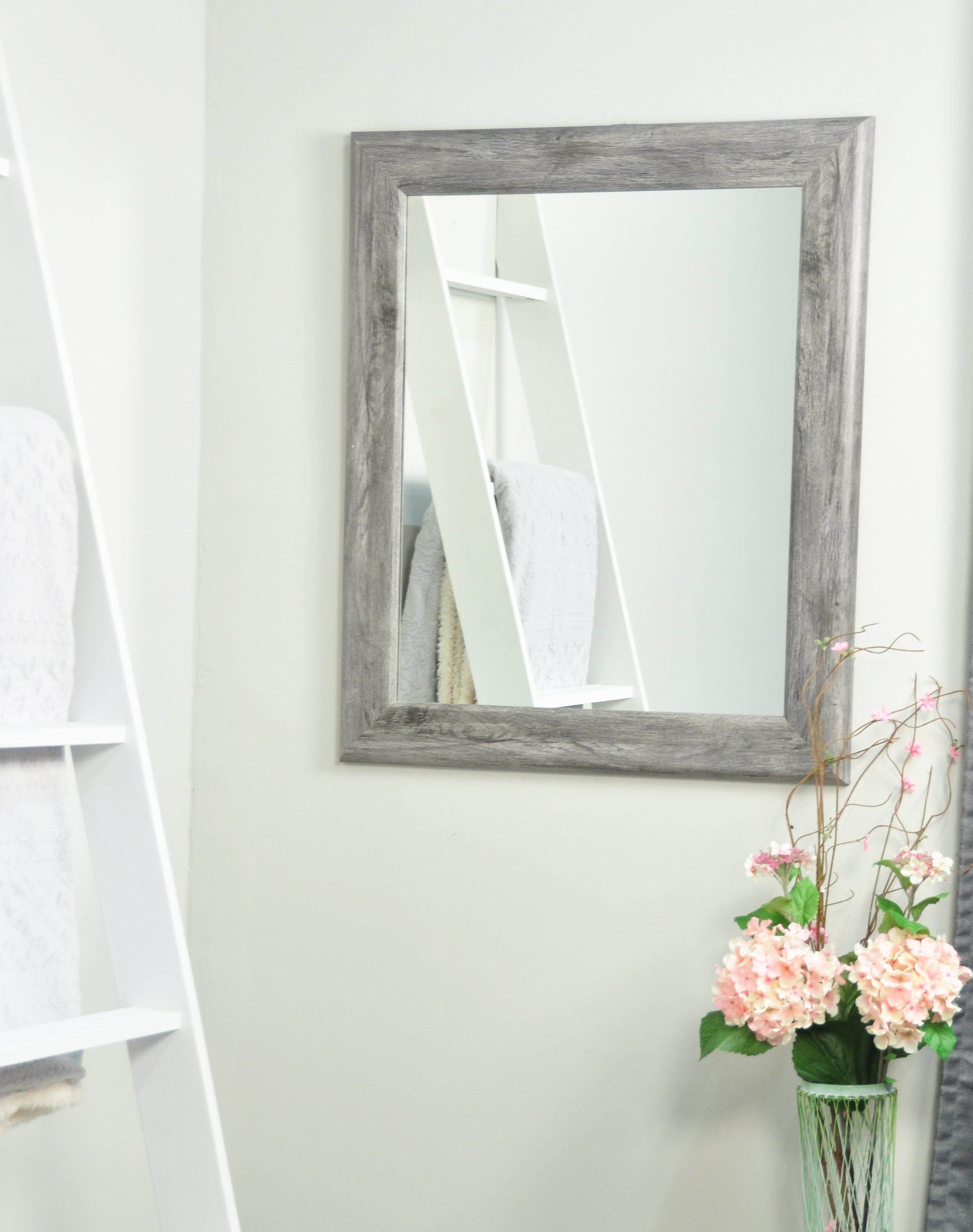 Farmhouse & Rustic Floor Mirrors | Birch Lane Pertaining To Handcrafted Farmhouse Full Length Mirrors (View 10 of 30)