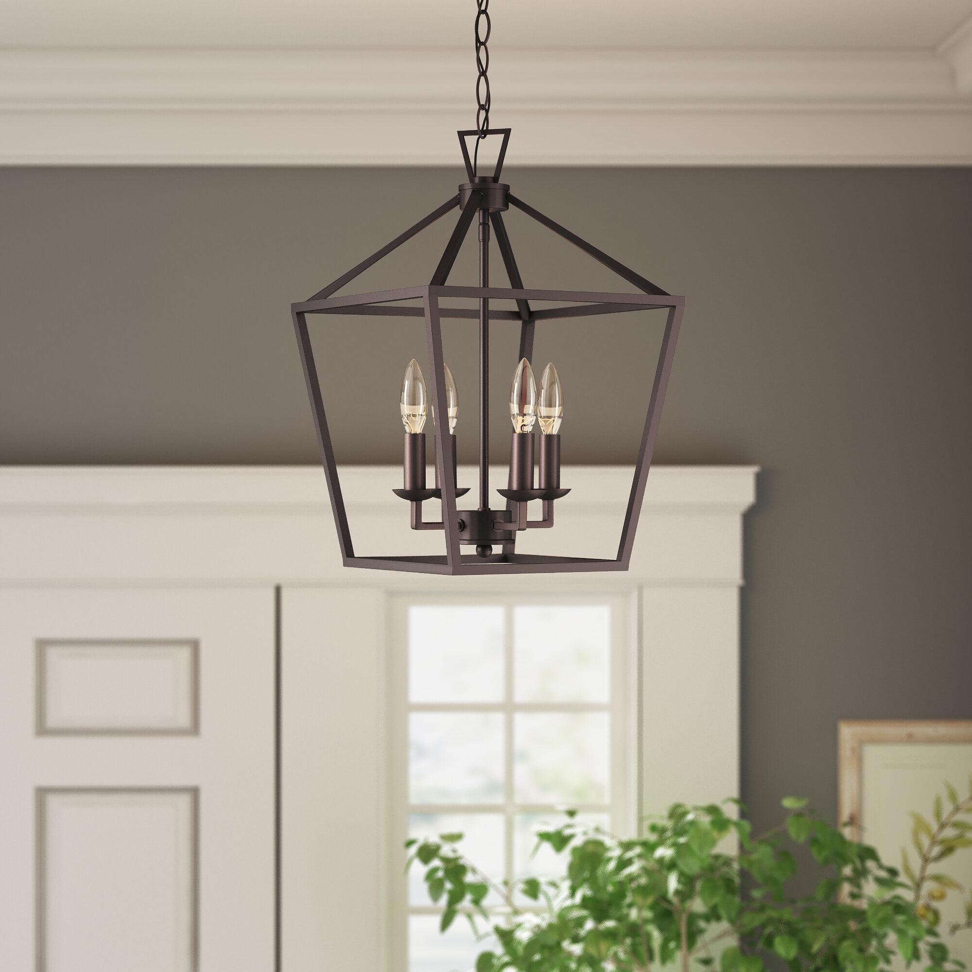 Farmhouse & Rustic Foyer Pendants | Birch Lane Pertaining To Warner Robins 3 Light Lantern Pendants (View 14 of 30)